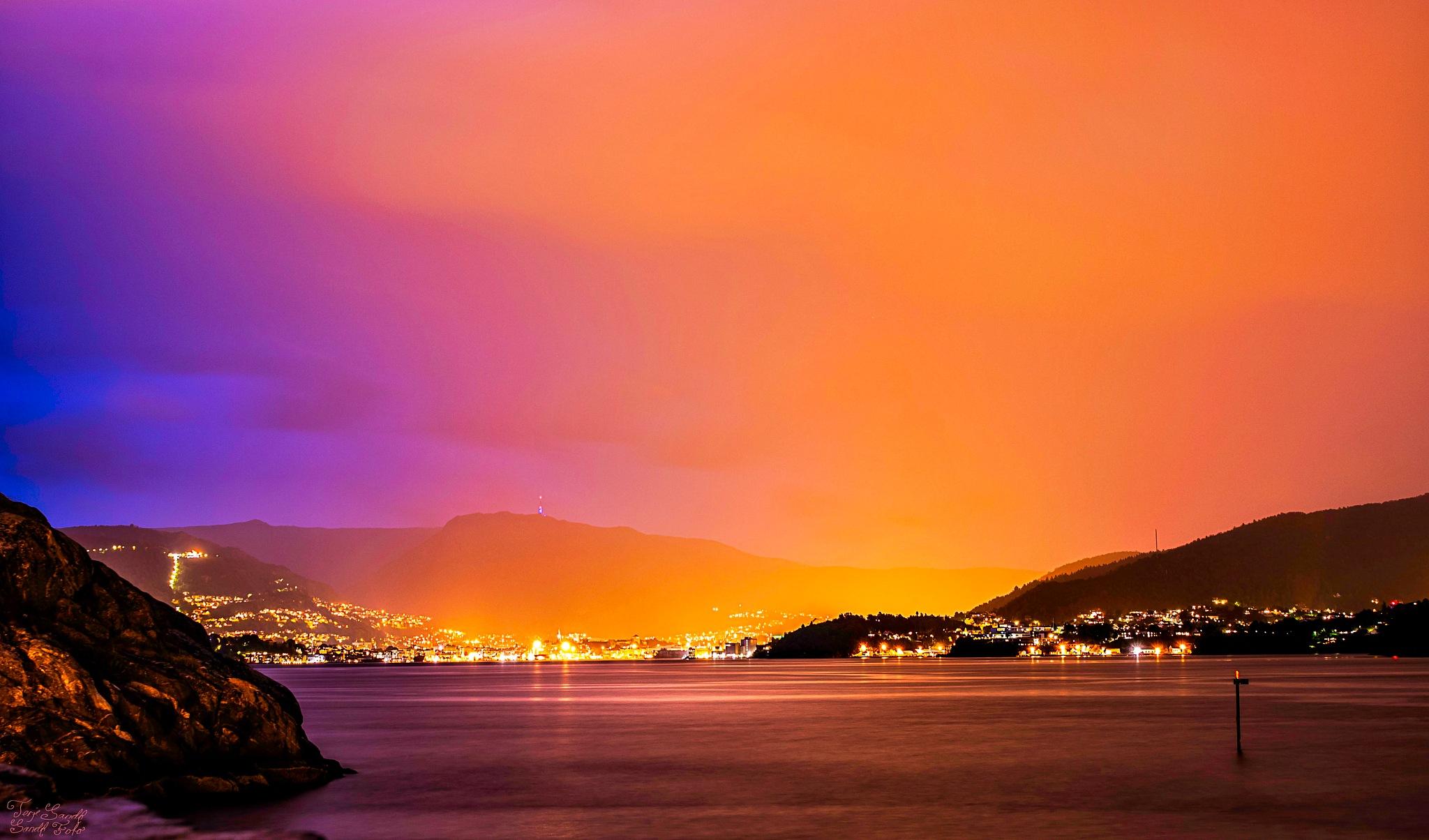 Bergen Norway  by tjsandofoto