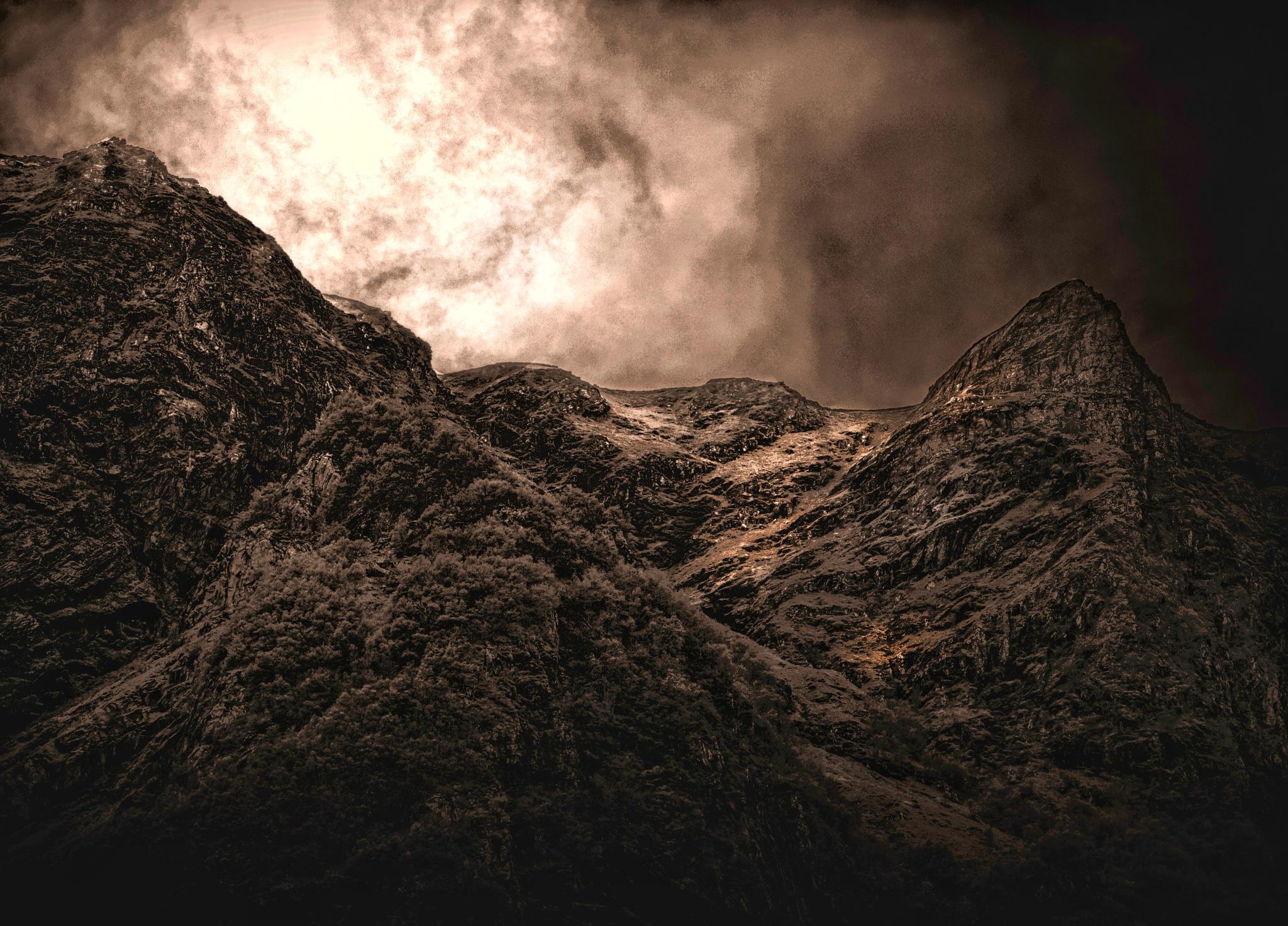 Golden Mountain  by tjsandofoto