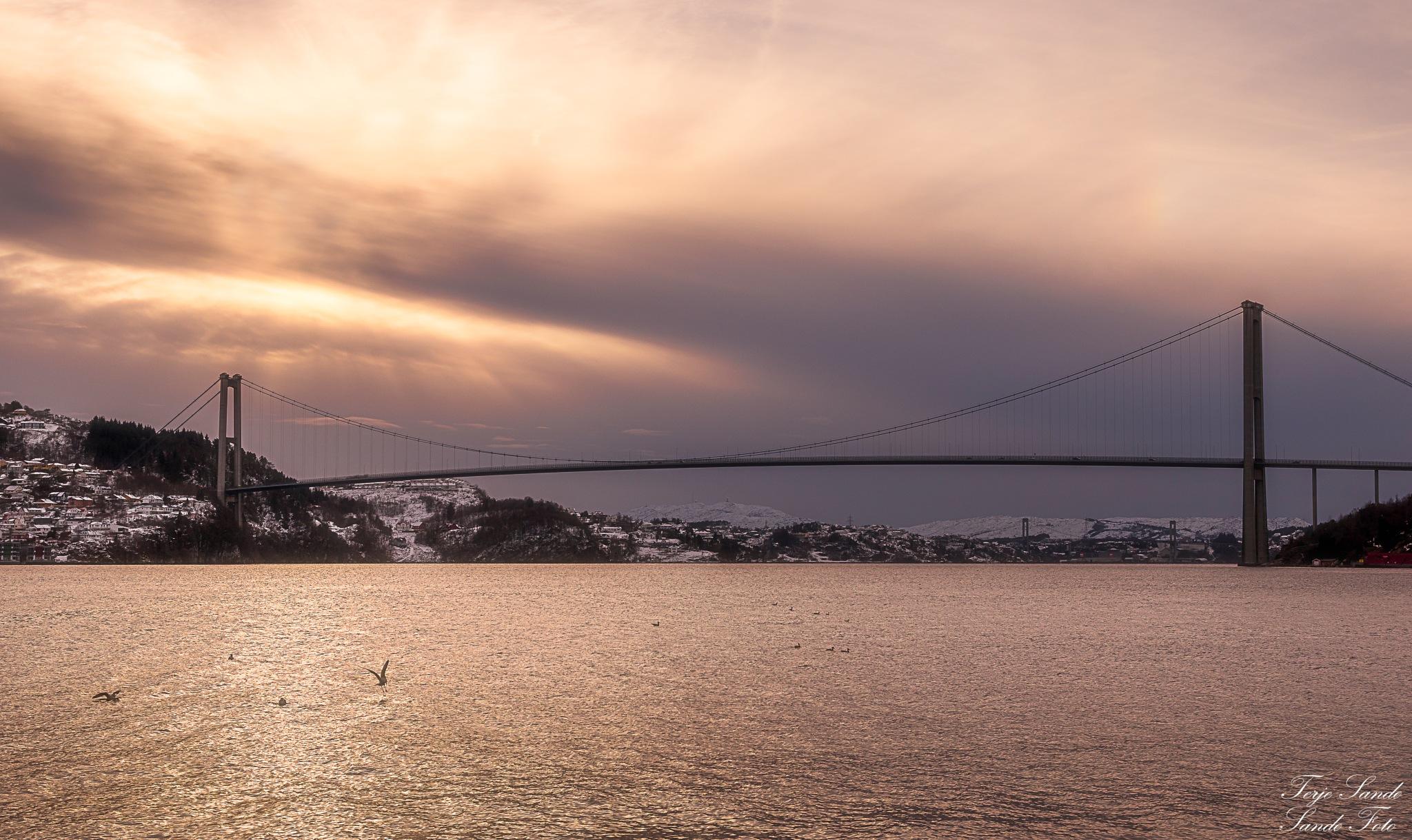 Askøybroen, Norway  by tjsandofoto