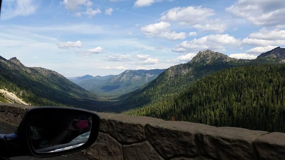 Mountain Pass by A Quiet Whisper/Melanie Daignault