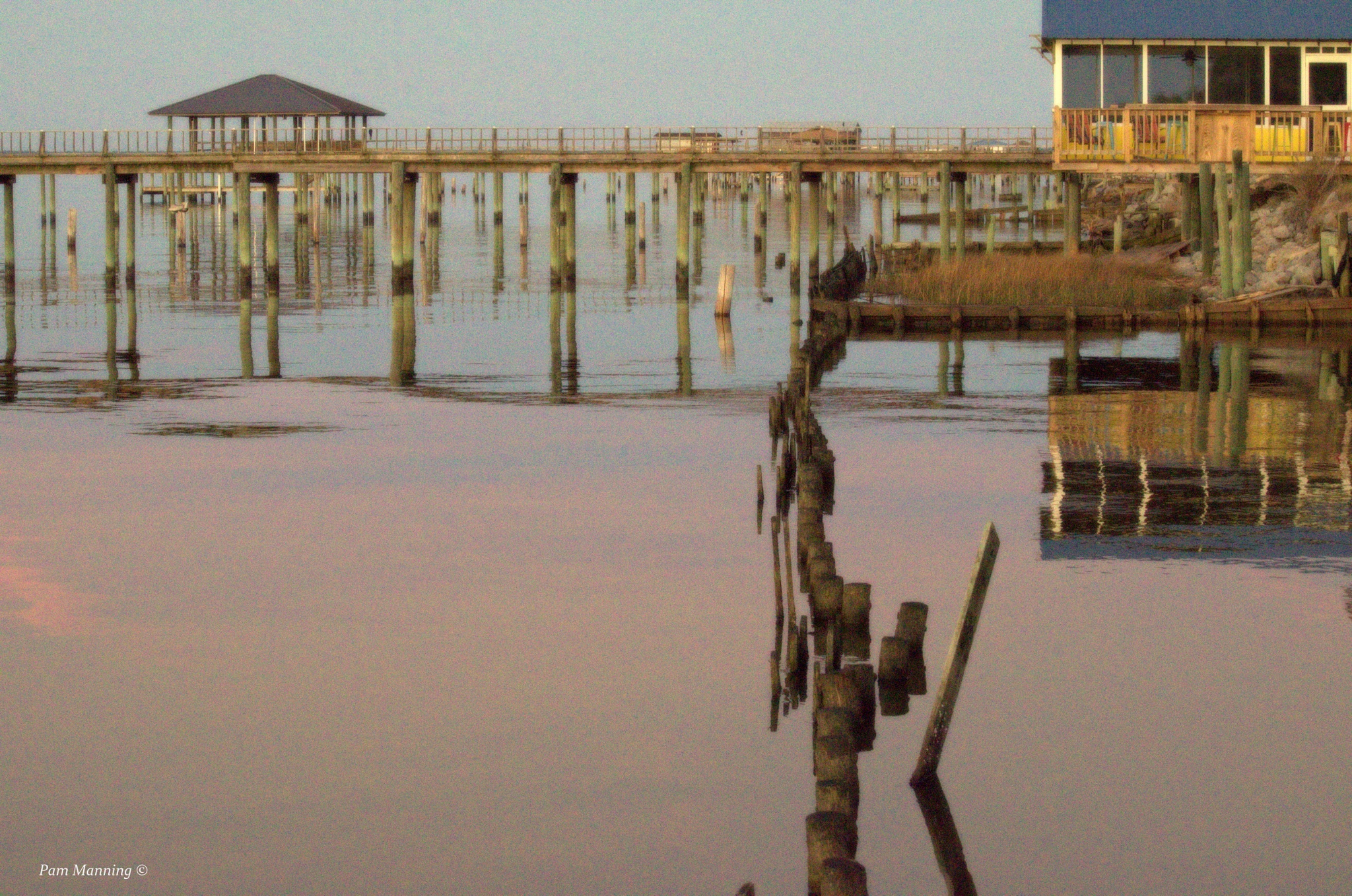 Reflections at the Bay by pam.satterfieldmanning