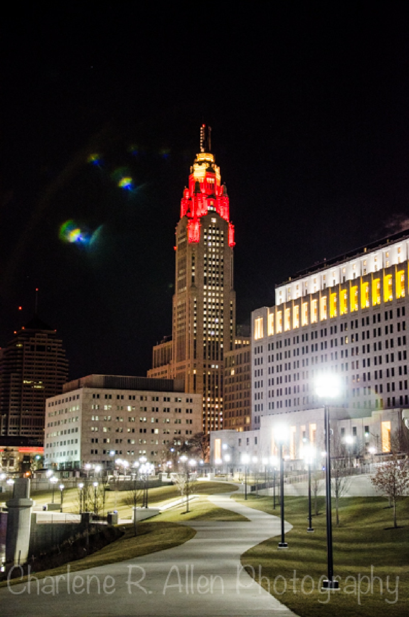 The Leveque Tower in downtown Columbus by Charlene Allen