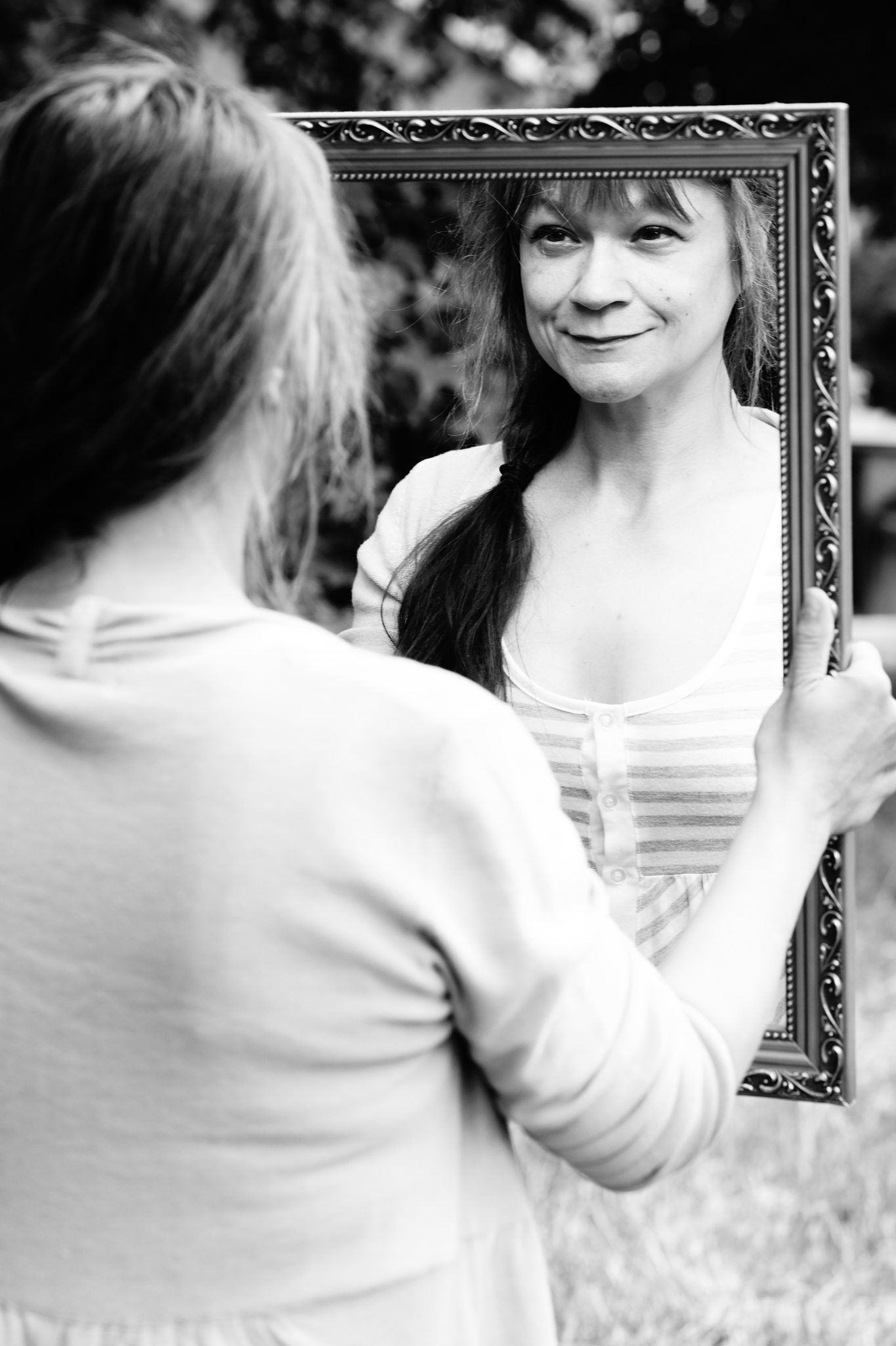 Lady in the Mirror by Andreas Karlsson