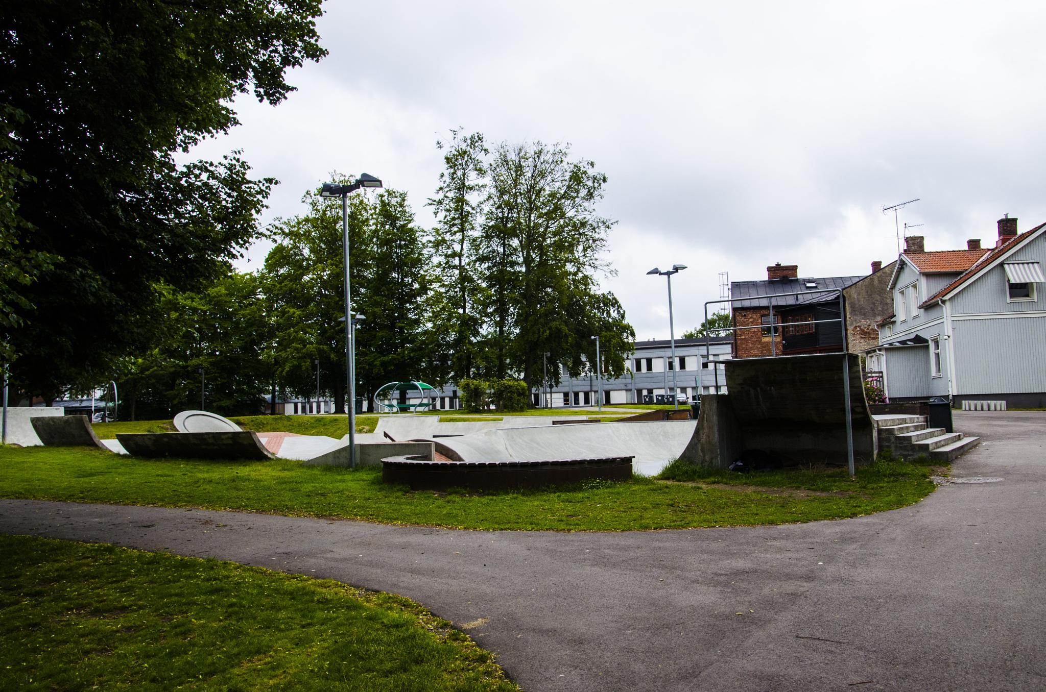 Skatebord park by Johnny Lythell