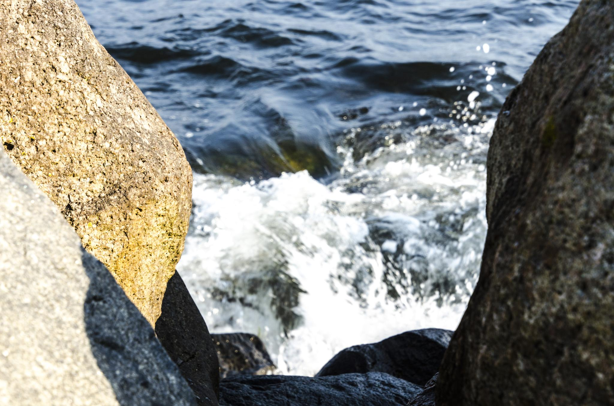 Water and stones by Johnny Lythell