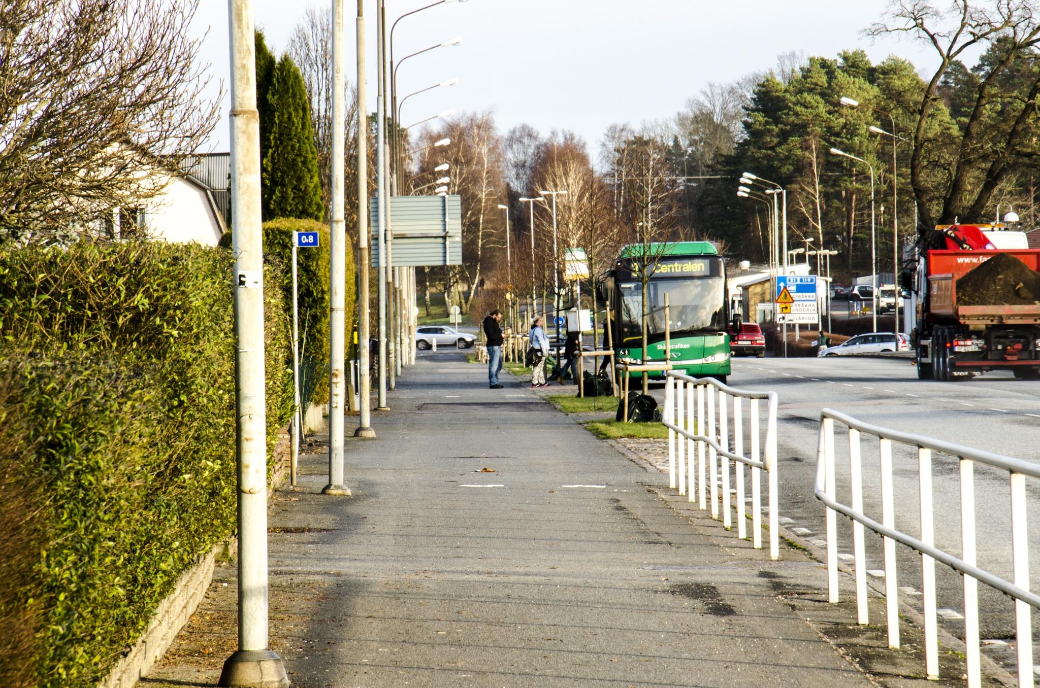 Hässleholm a Monday morning by Johnny Lythell