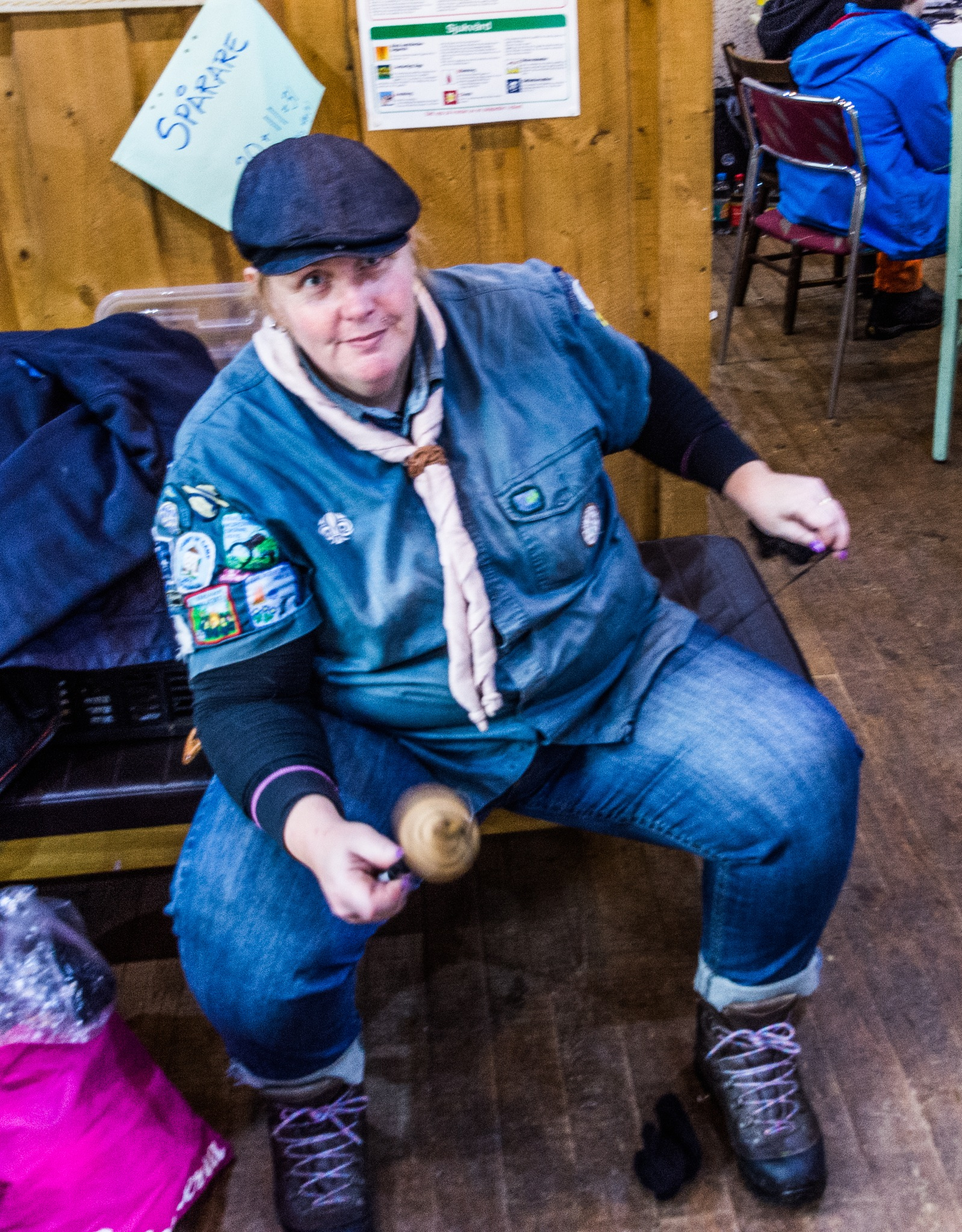 Some scouts spin the yarn instead by Johnny Lythell