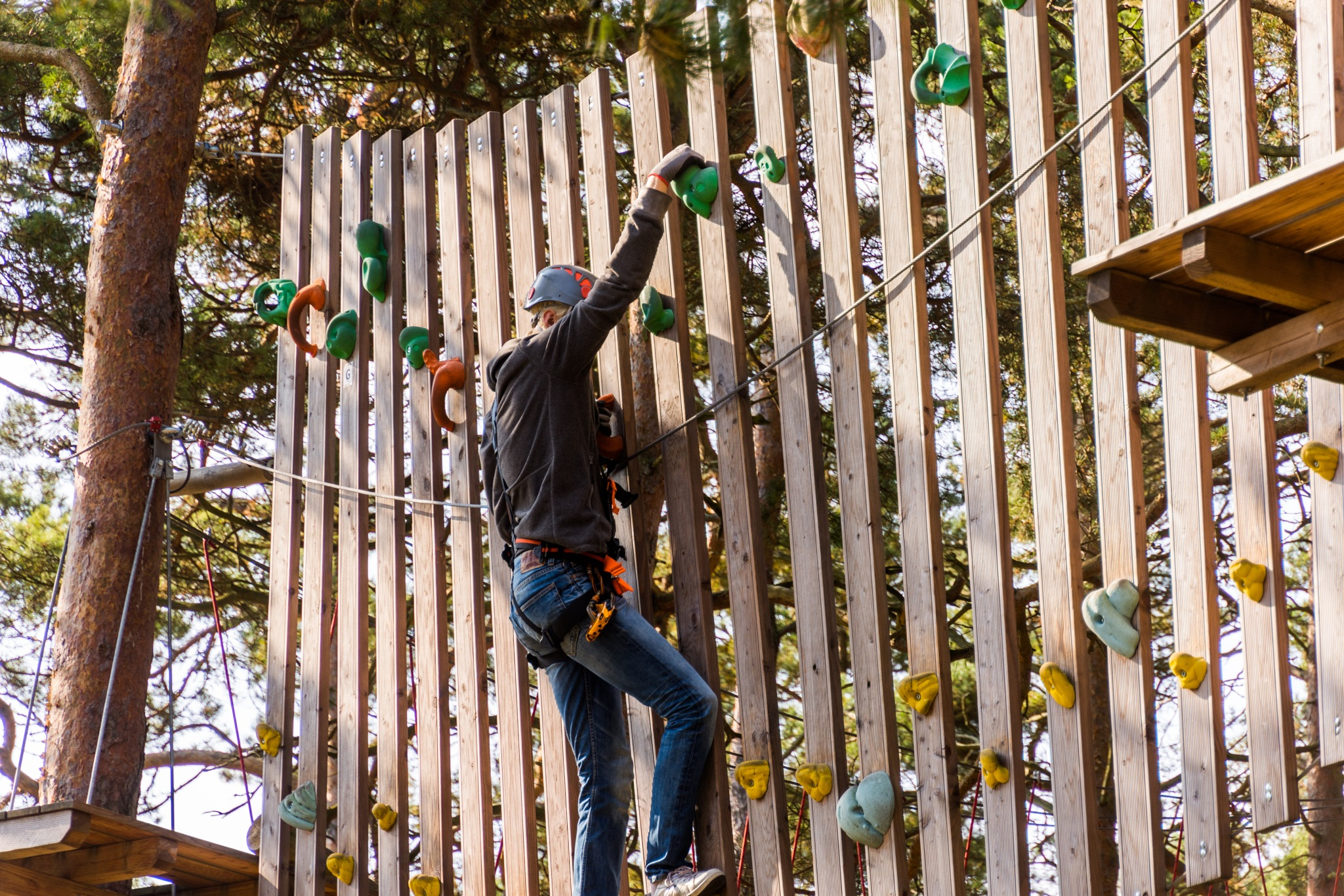 Climbing wall by Johnny Lythell