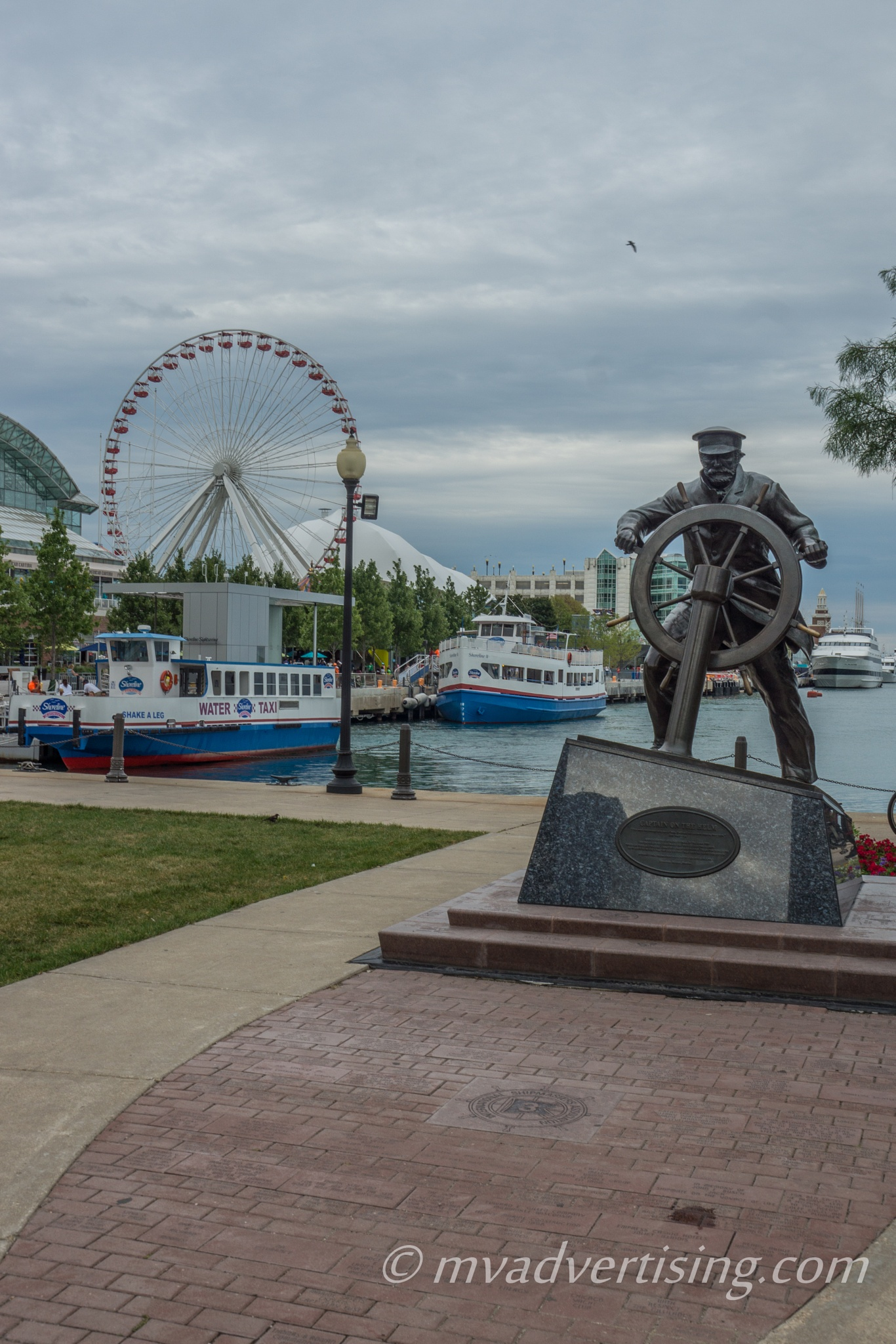 Sailor at Navy Pier by joseph.m.frith