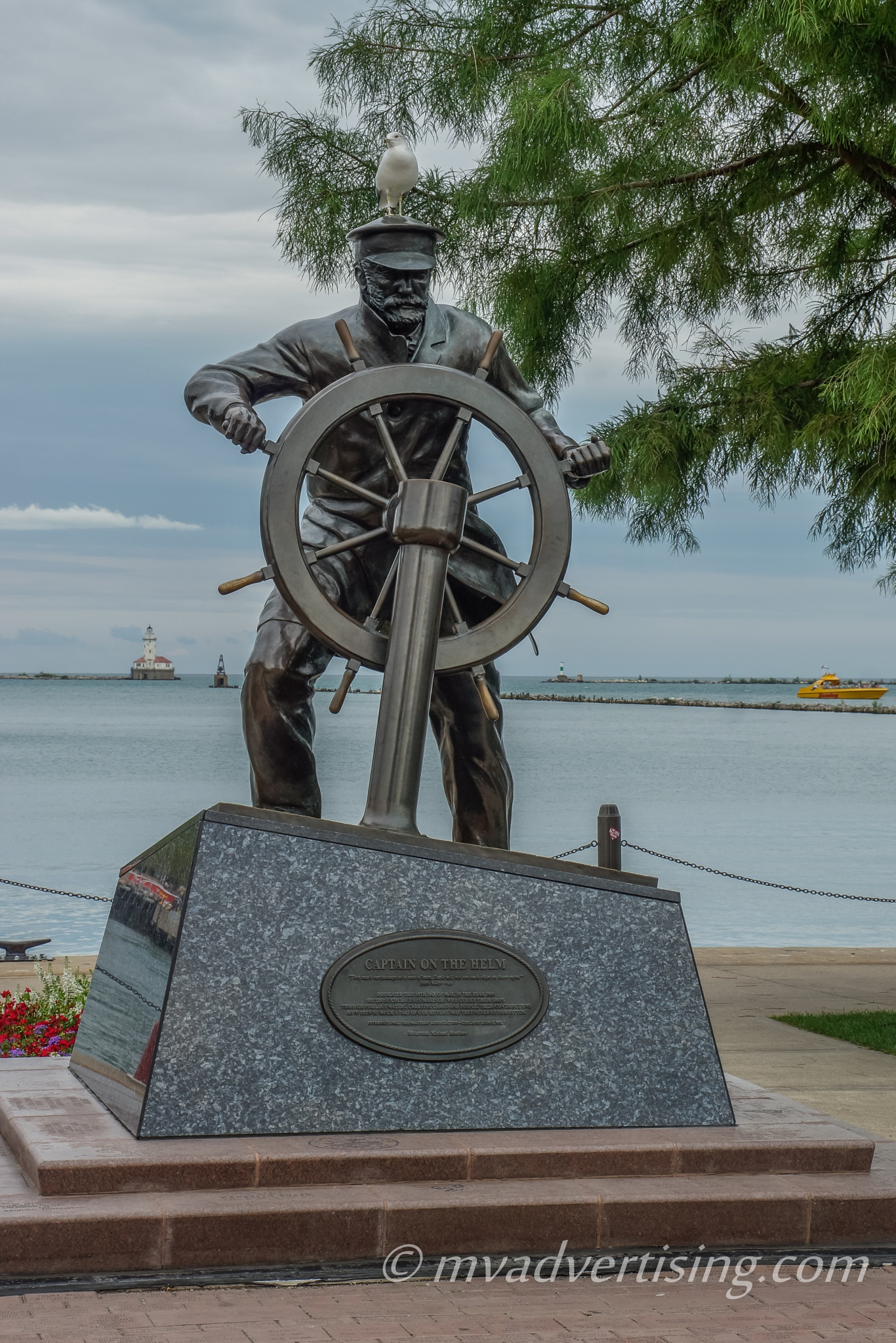 Sea Gull and the Sailor by joseph.m.frith
