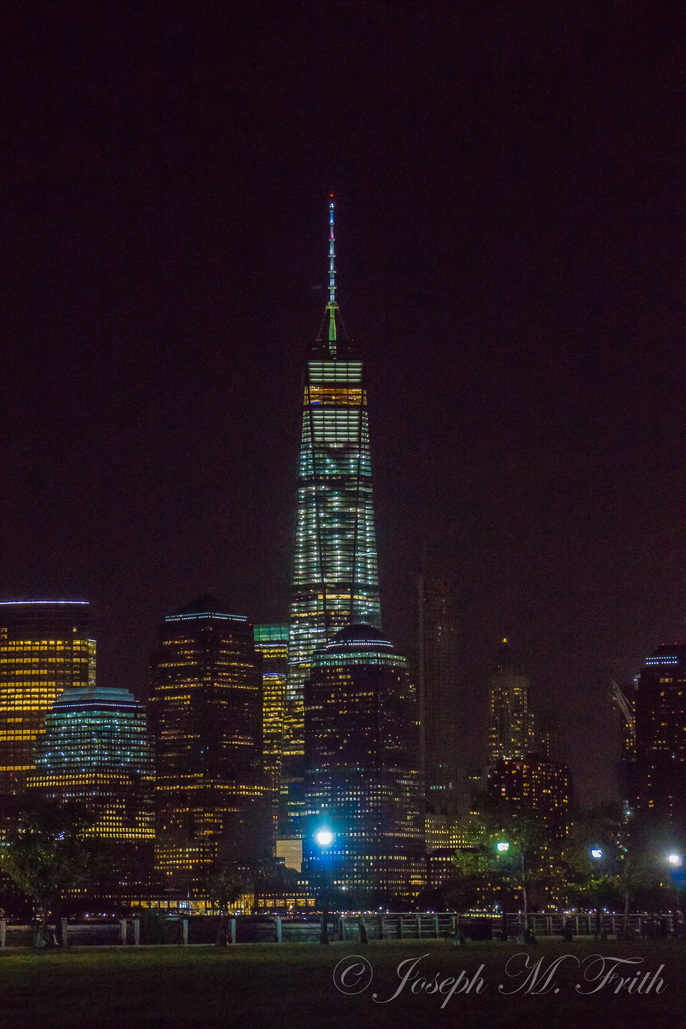4 AM New York Skyline by joseph.m.frith