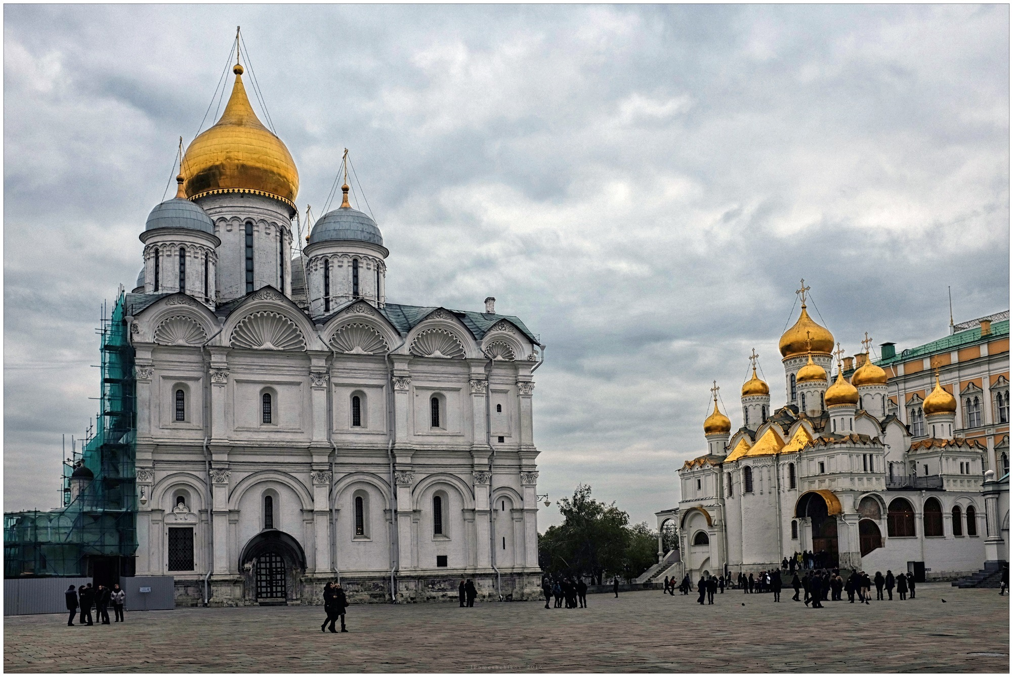 Храмы Московского Кремля by igorcentr