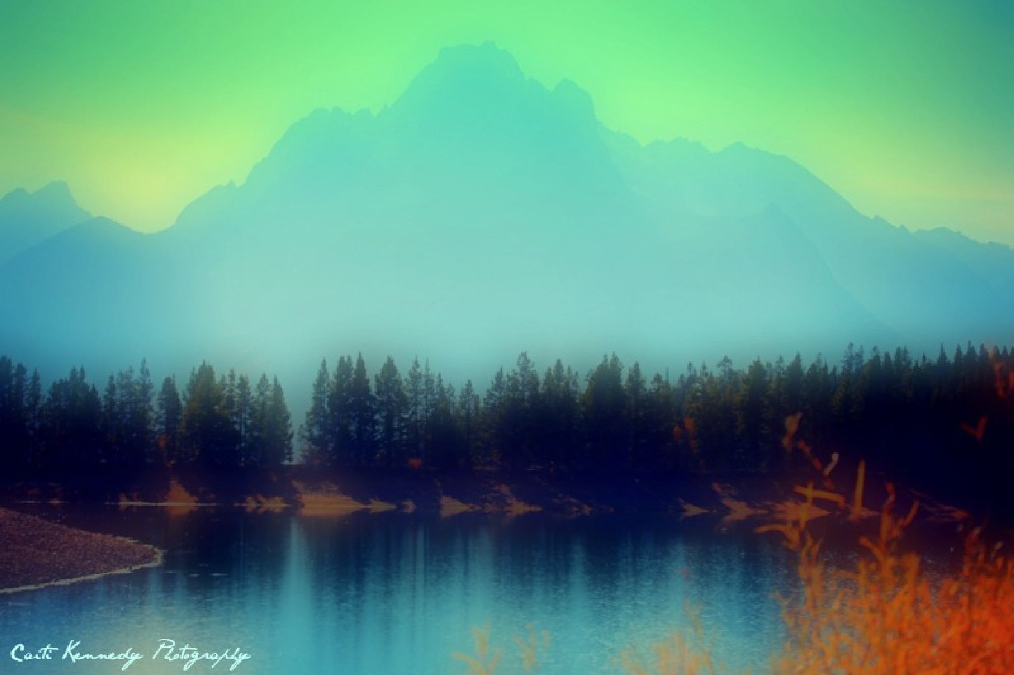 Snake River and Tetons by Caiti Kennedy