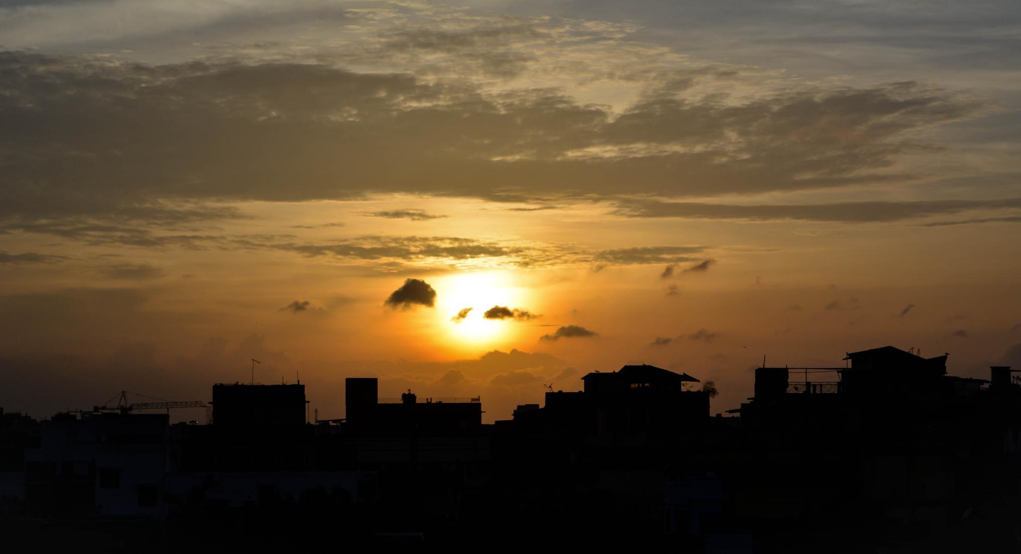 Setting sun by pritam.dutta.20