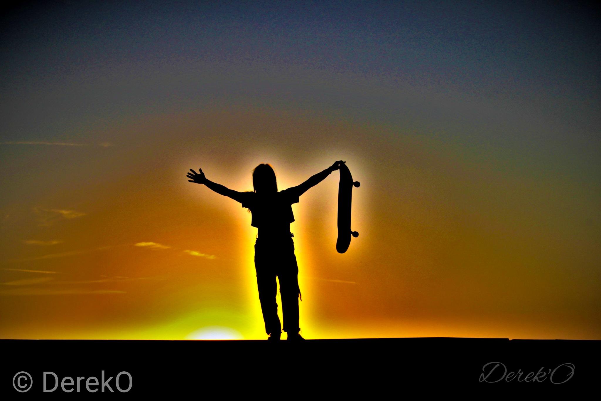 SKATER GIRL.. by derek.oliver3