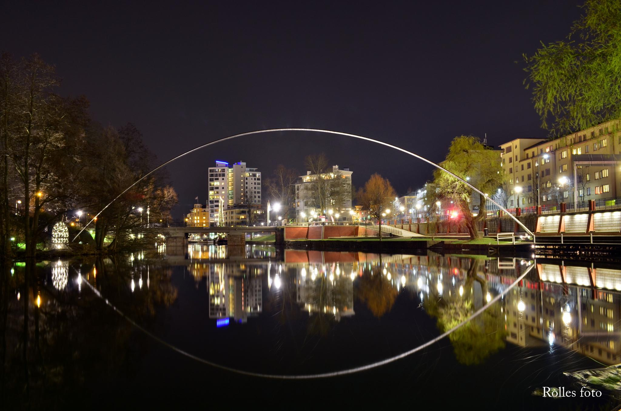 Linkoping by night by rollepersson