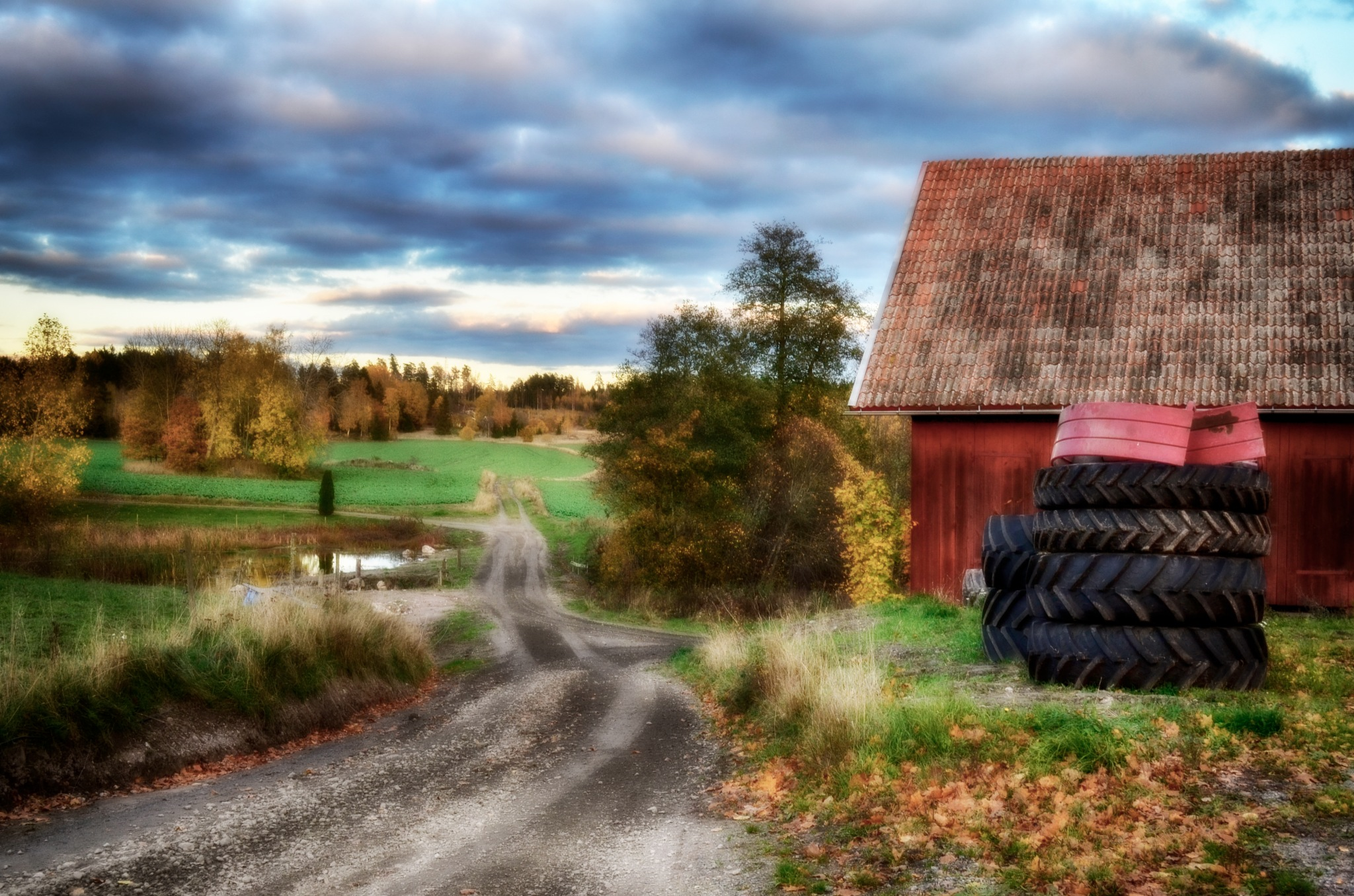 Outside the countryside 2 by rollepersson