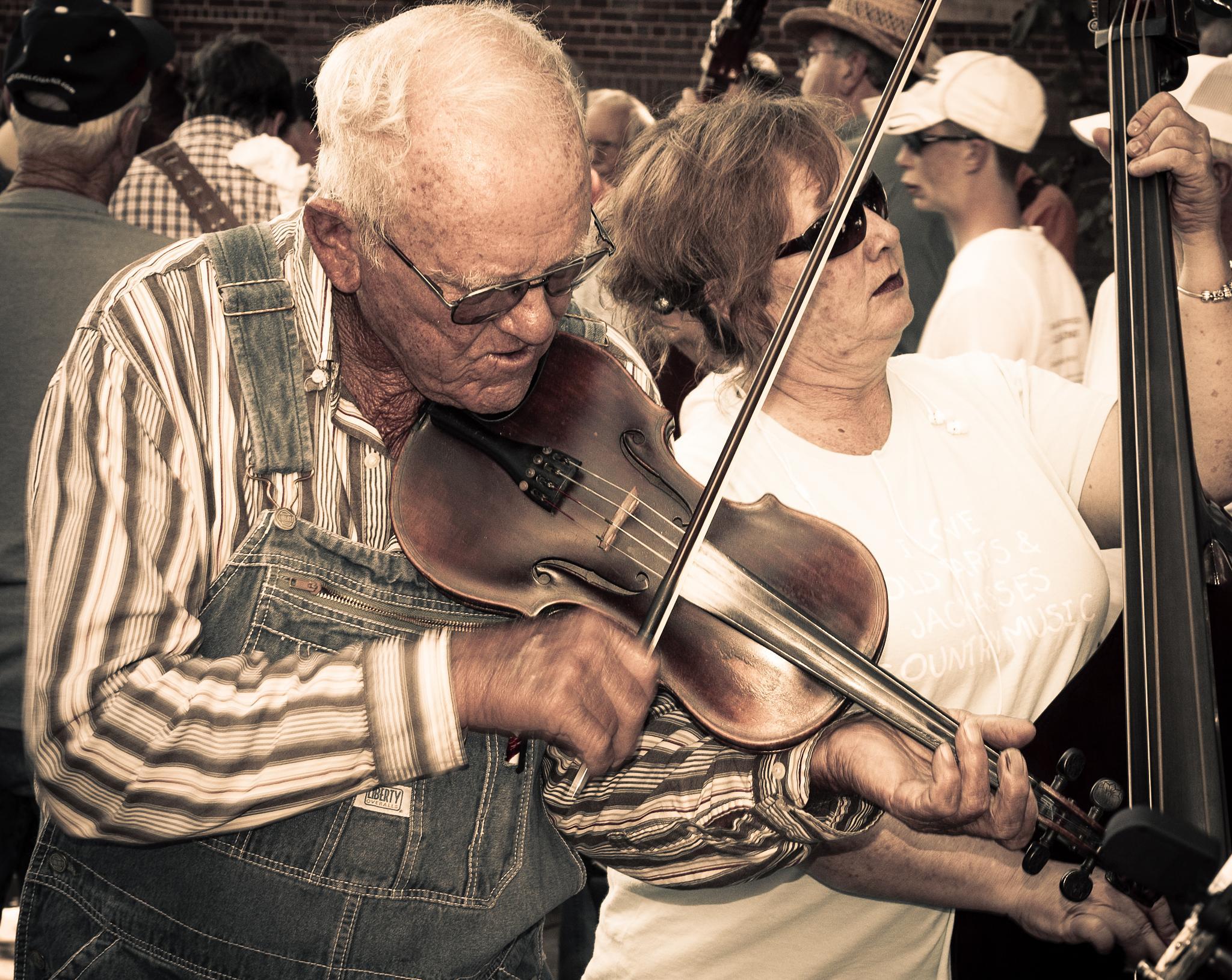 Fiddle & Bass by wacissa