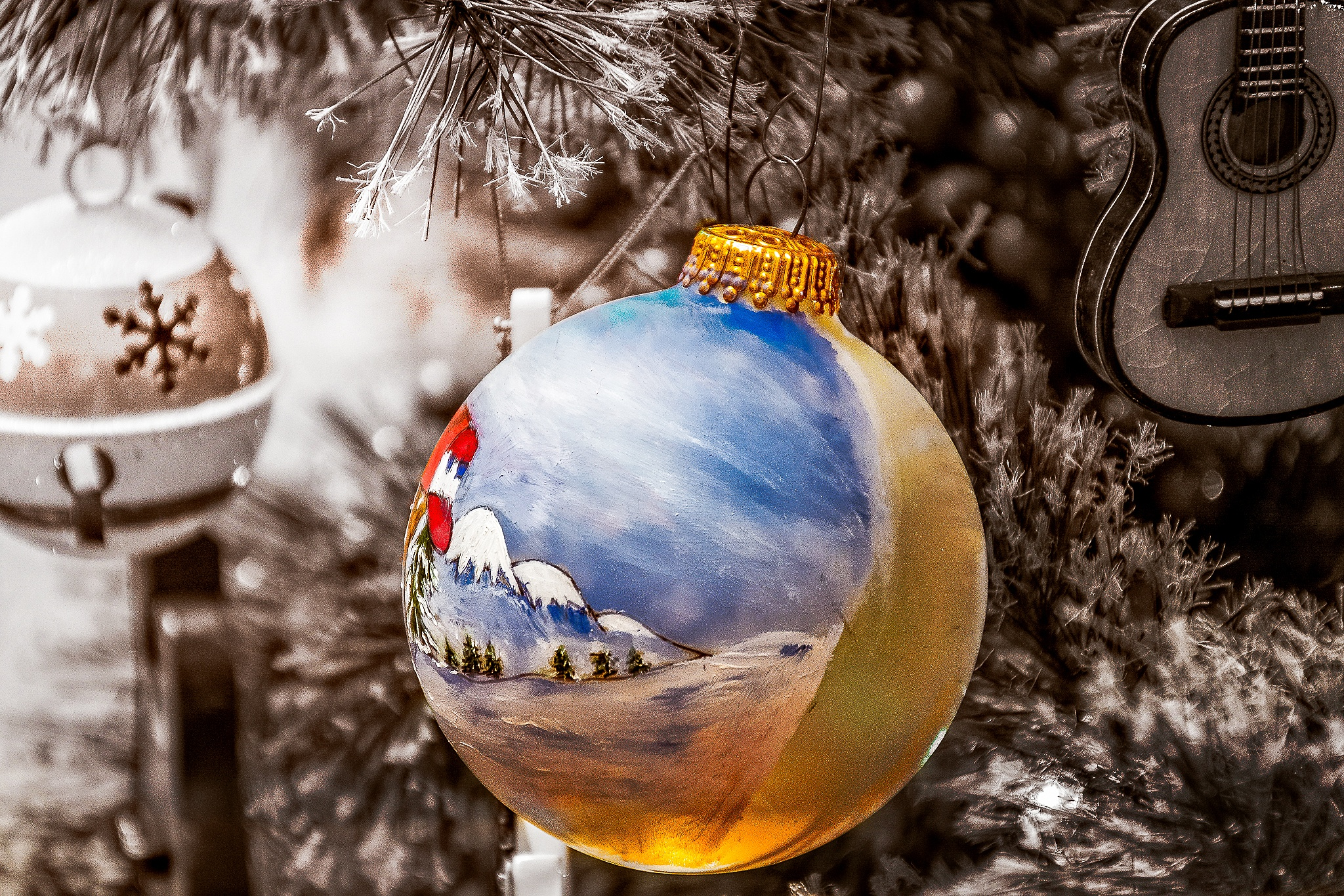 Lights of Christmas by wacissa