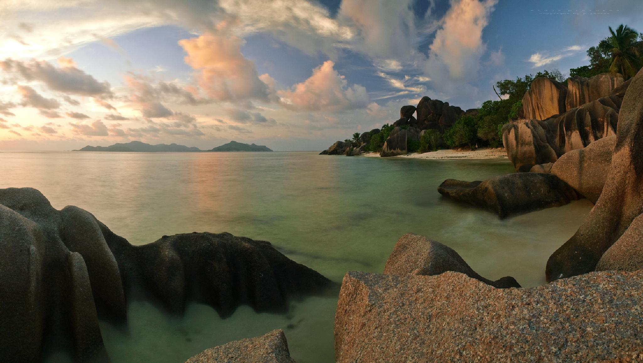 Anse Source d`Argent - La Digue Island - Seychelles 2014 by etdjtpictures