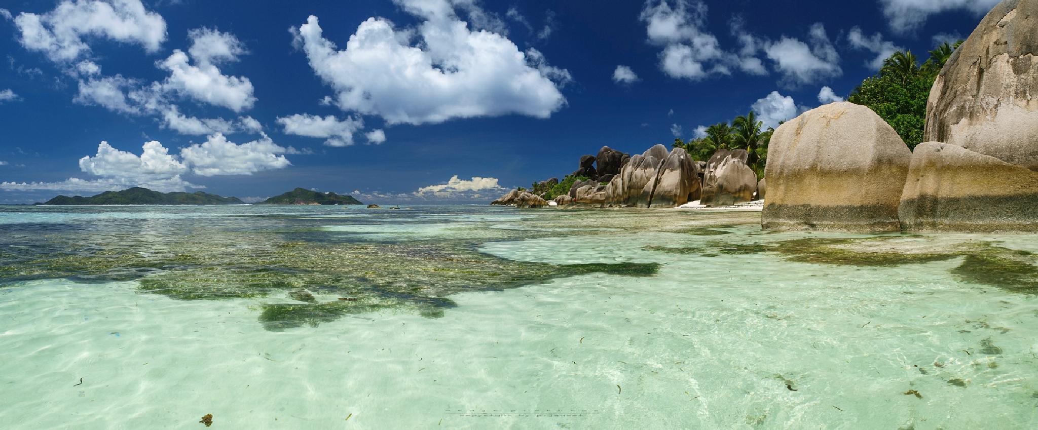 Anse Source d`Argent - La Digue Island - Seychelles 2014  by etdjtpictures