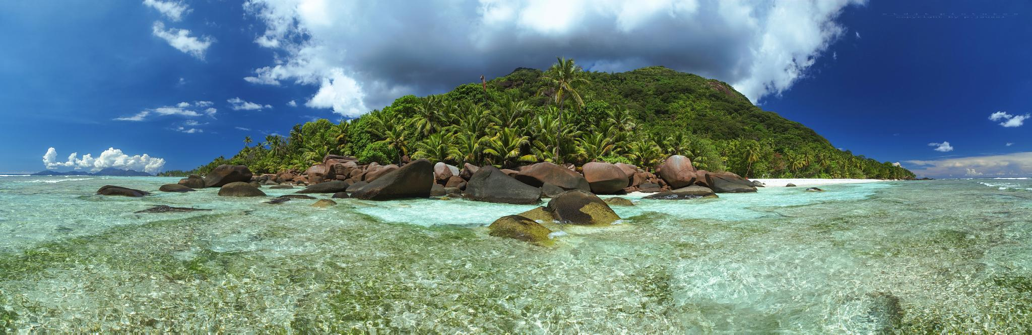 Baie Cipailles - Silhouette Island - Seychelles 2015 by etdjtpictures