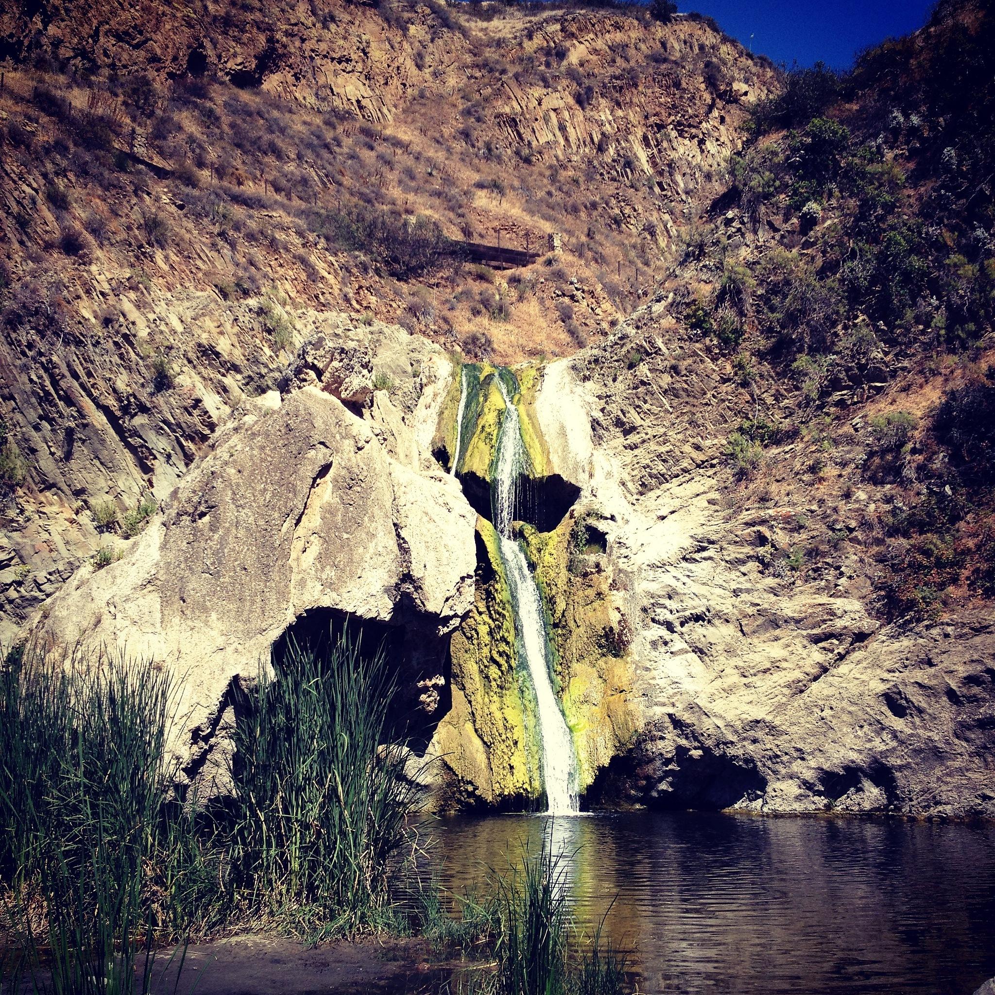 Waterfall at Wildwood park by OlgaYaniraFrias