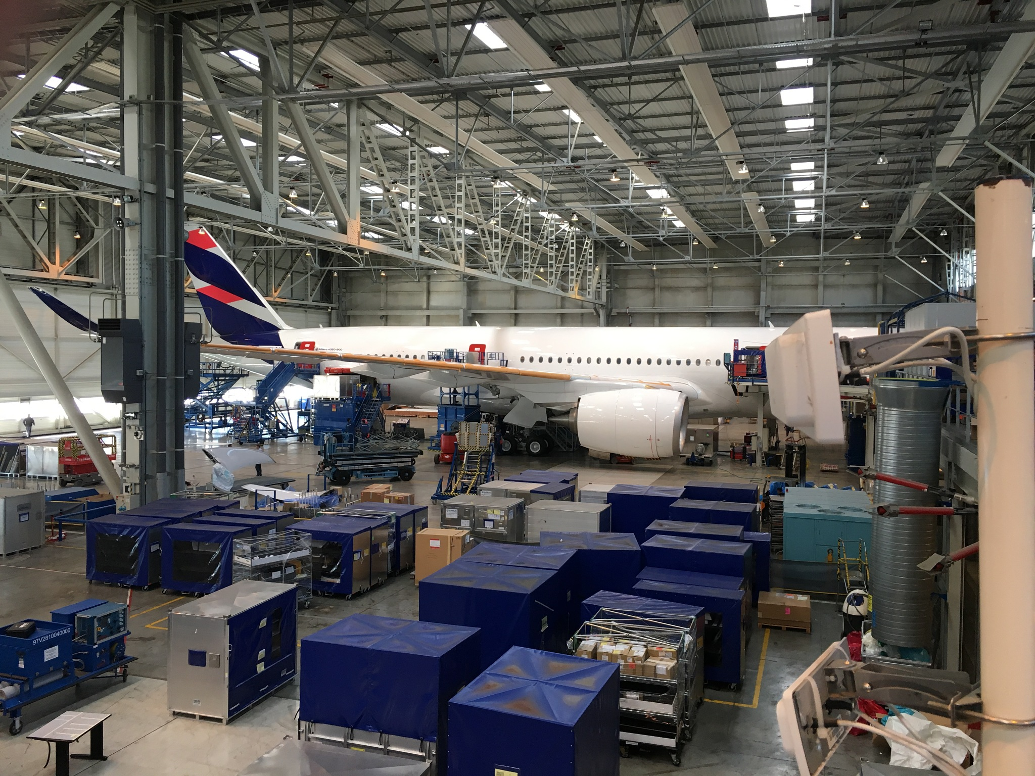 LATAM Airlines Newest A350 by ronmac777