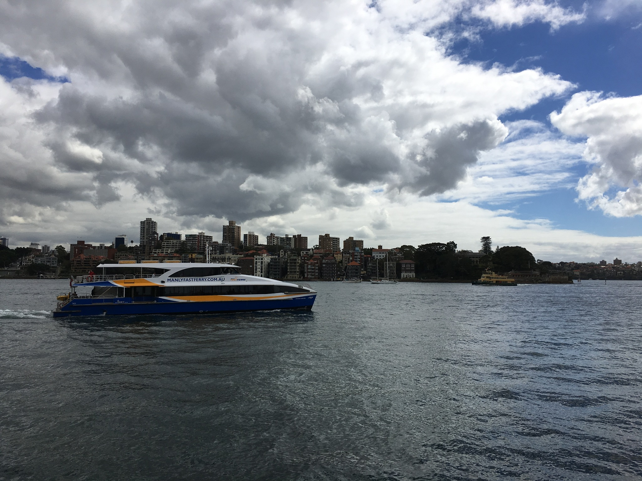 Sydney Harbour by ronmac777
