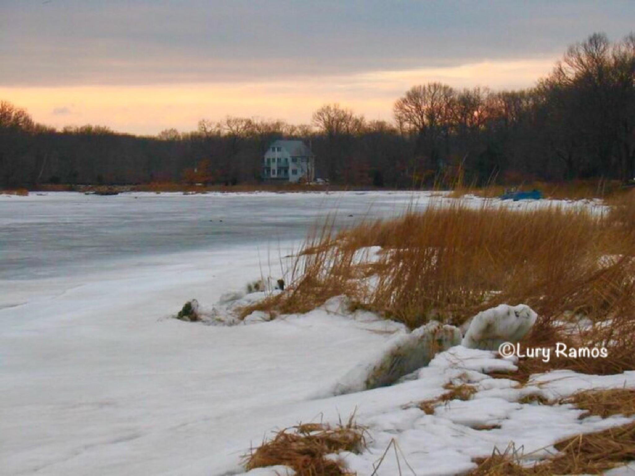 Frozen Water by Lury Ramos