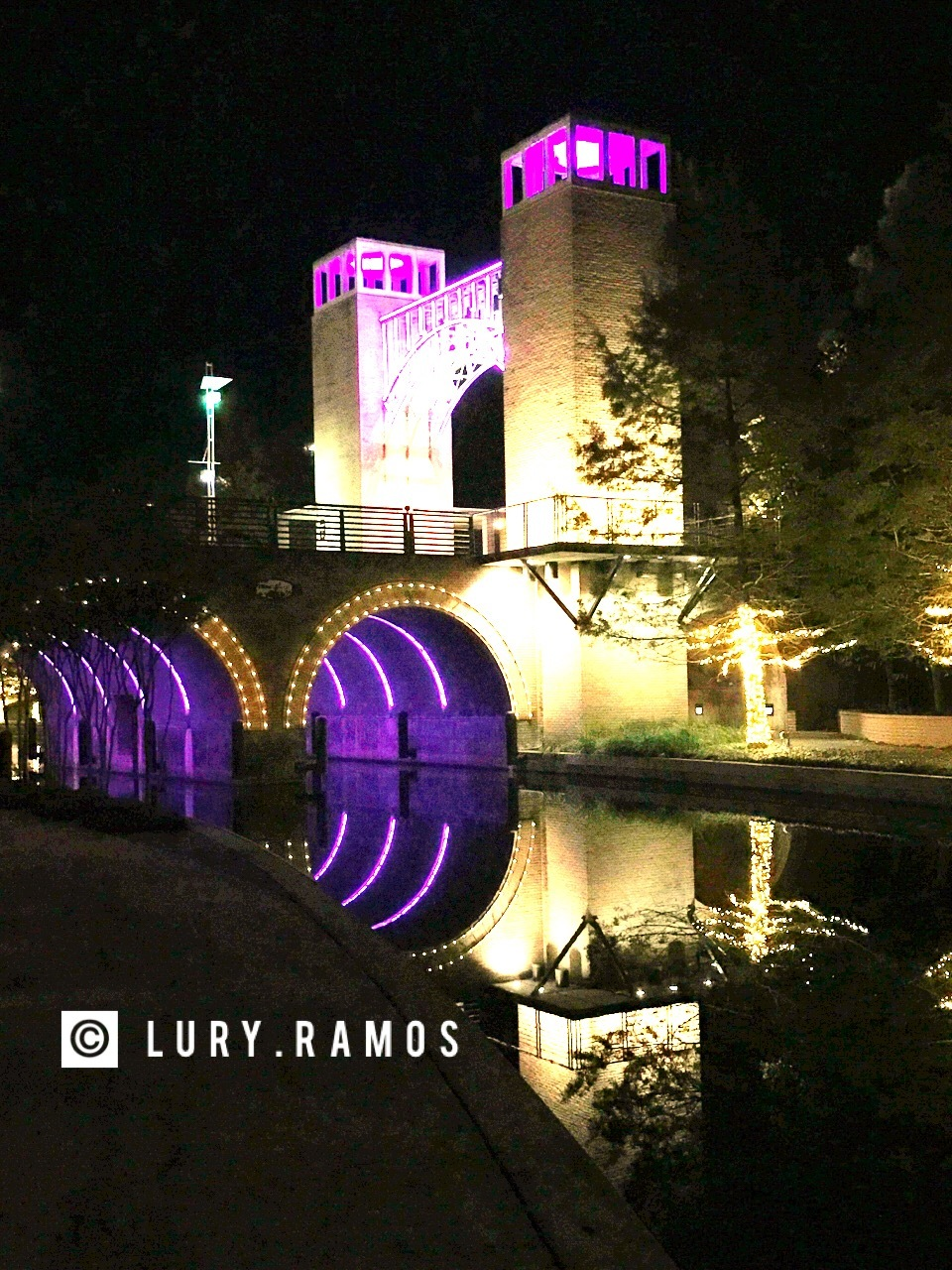 The Waterway, The Woodlands, Texas by Lury Ramos