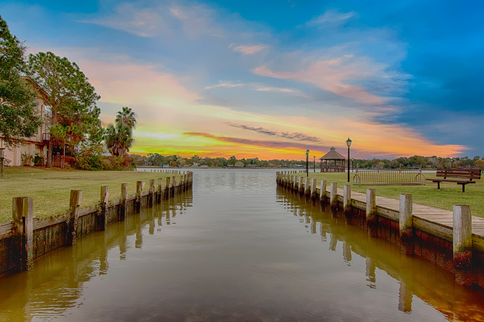 Canal to the Lake by Aperture Art Creations