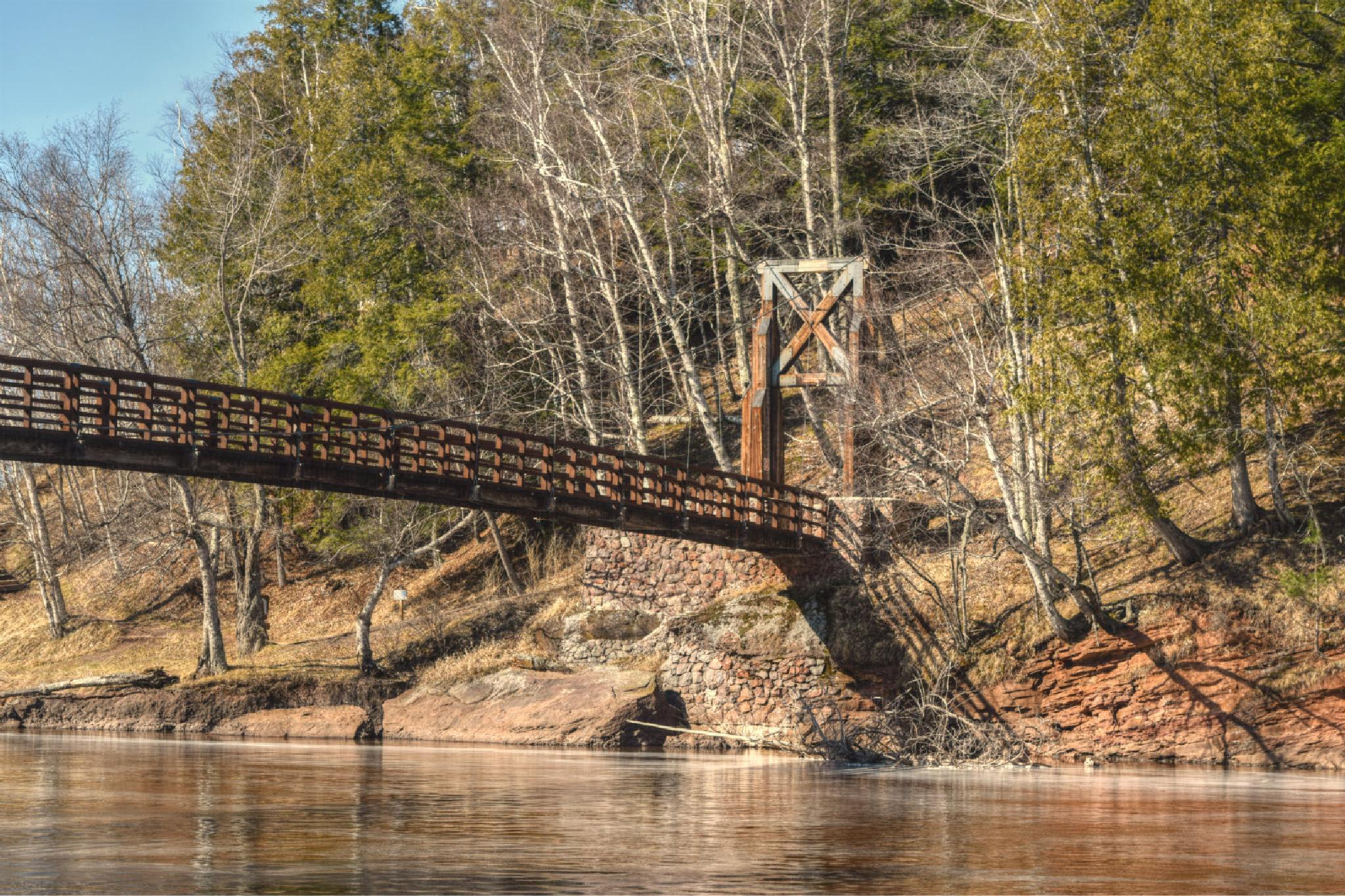 Black River Harbor Bridge by Nichole Petranek