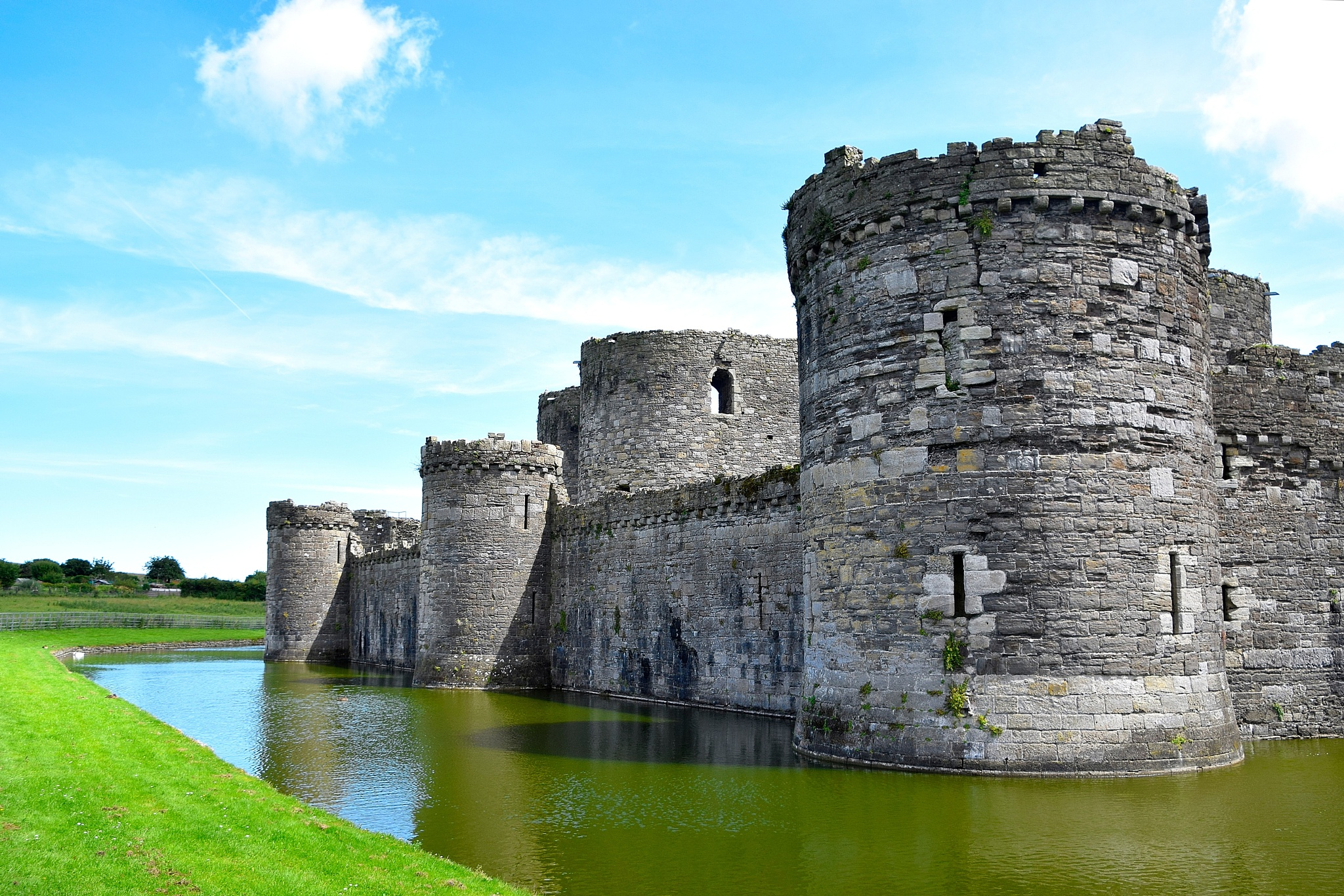Beaumaris Castle  by cliff.edmundson.3