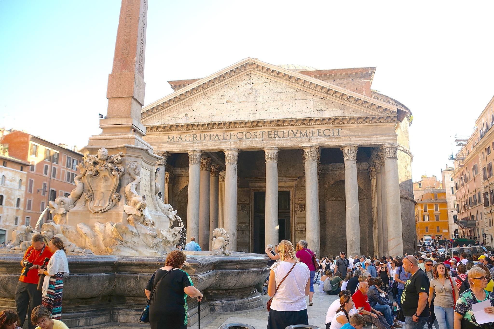 Rome - Pantheon  by cliff.edmundson.3