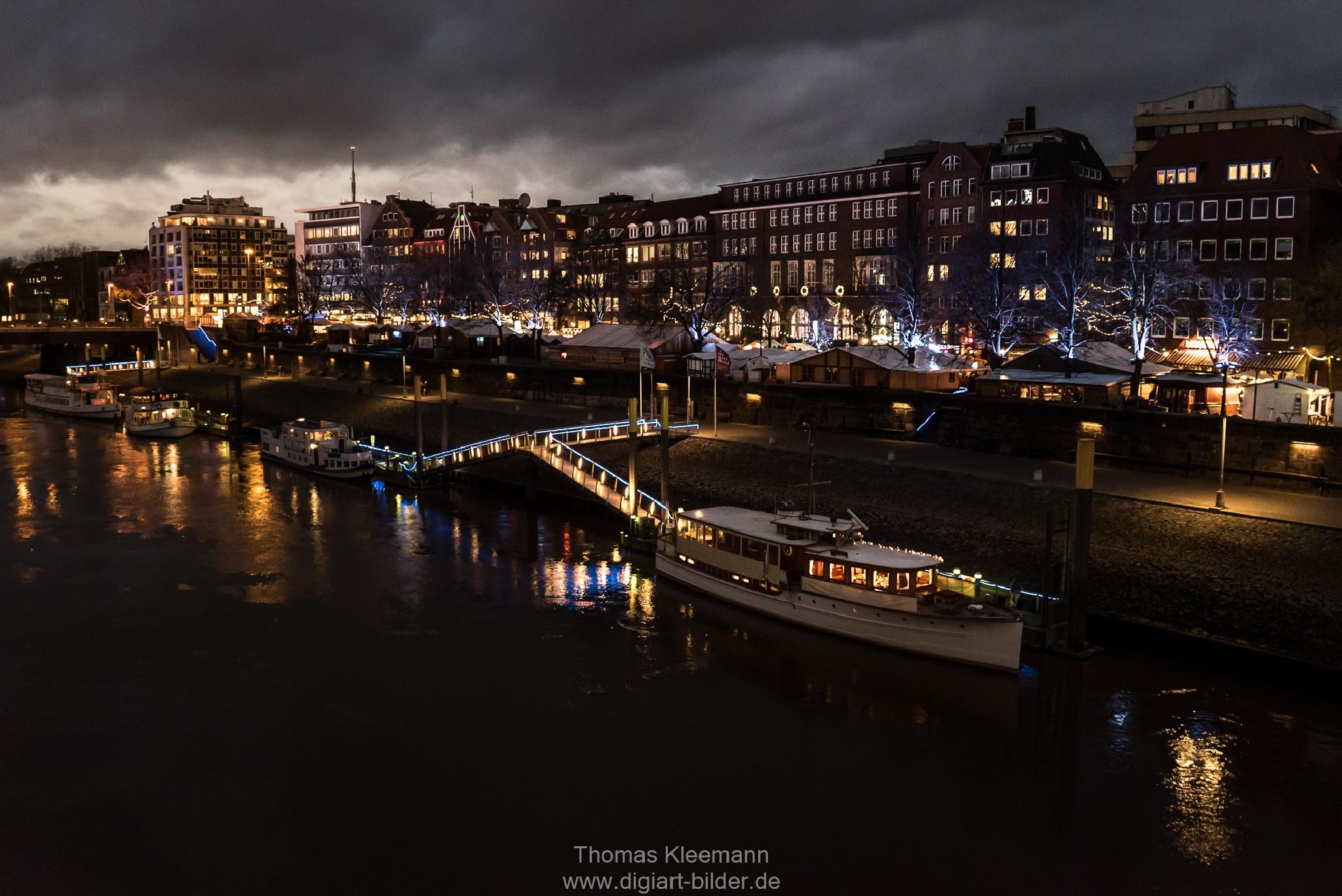 Evening in Bremen 2 by thomaskleemann1960