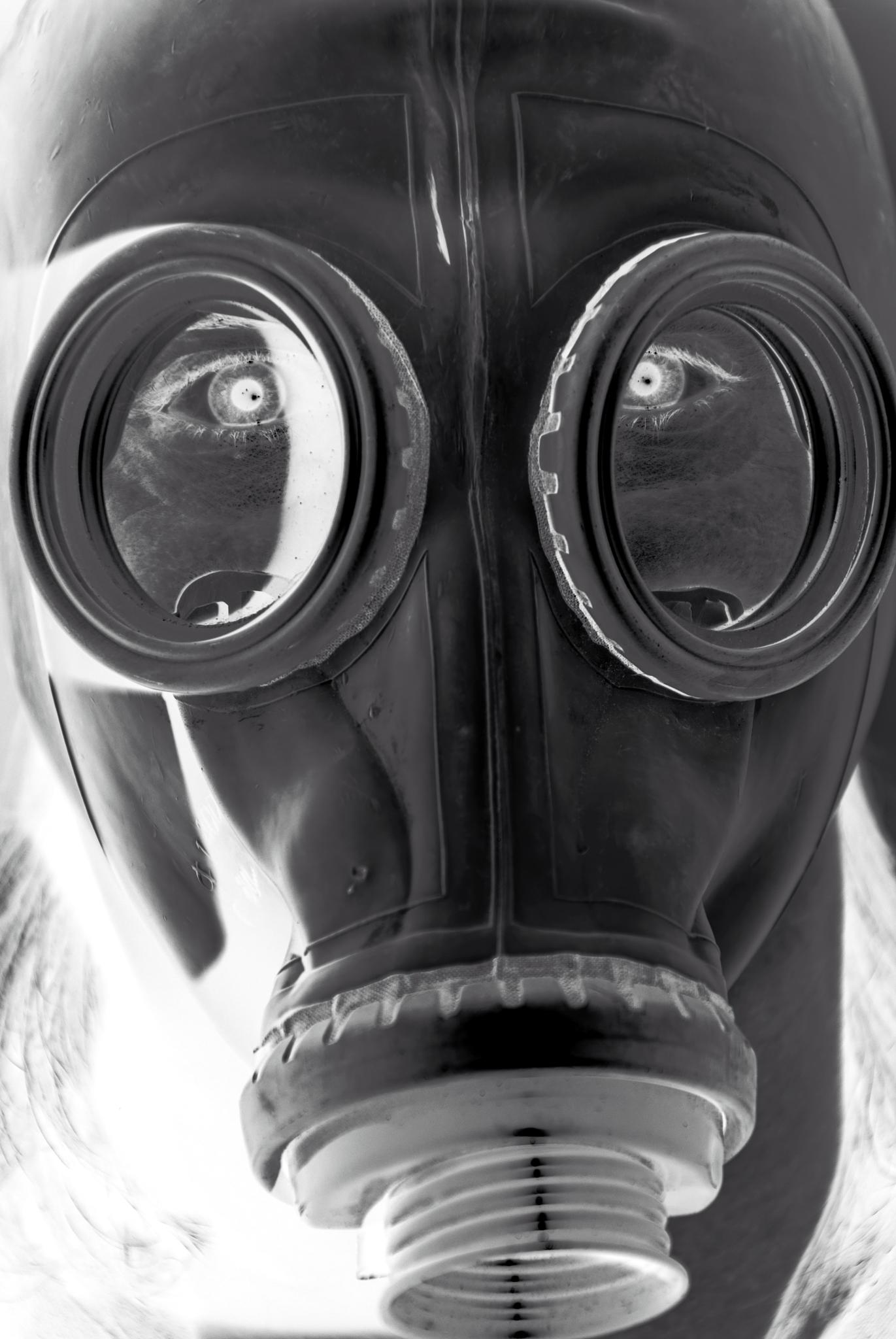 Inverted gas mask by MADOLDIE