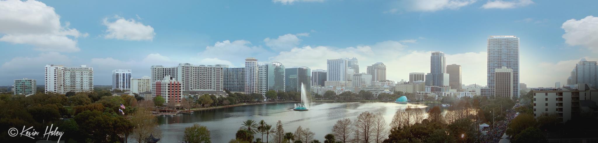 Orlando skyline by contact.kevinhaley