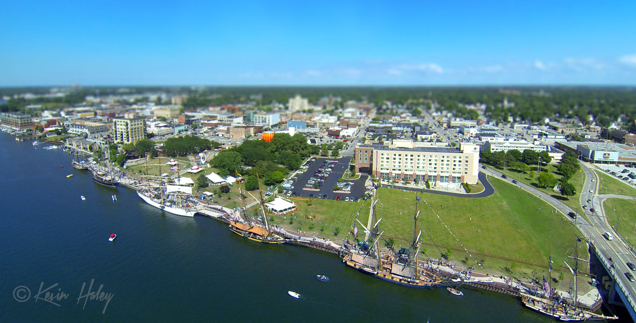Miniature Tallships Bay City Mi. by contact.kevinhaley