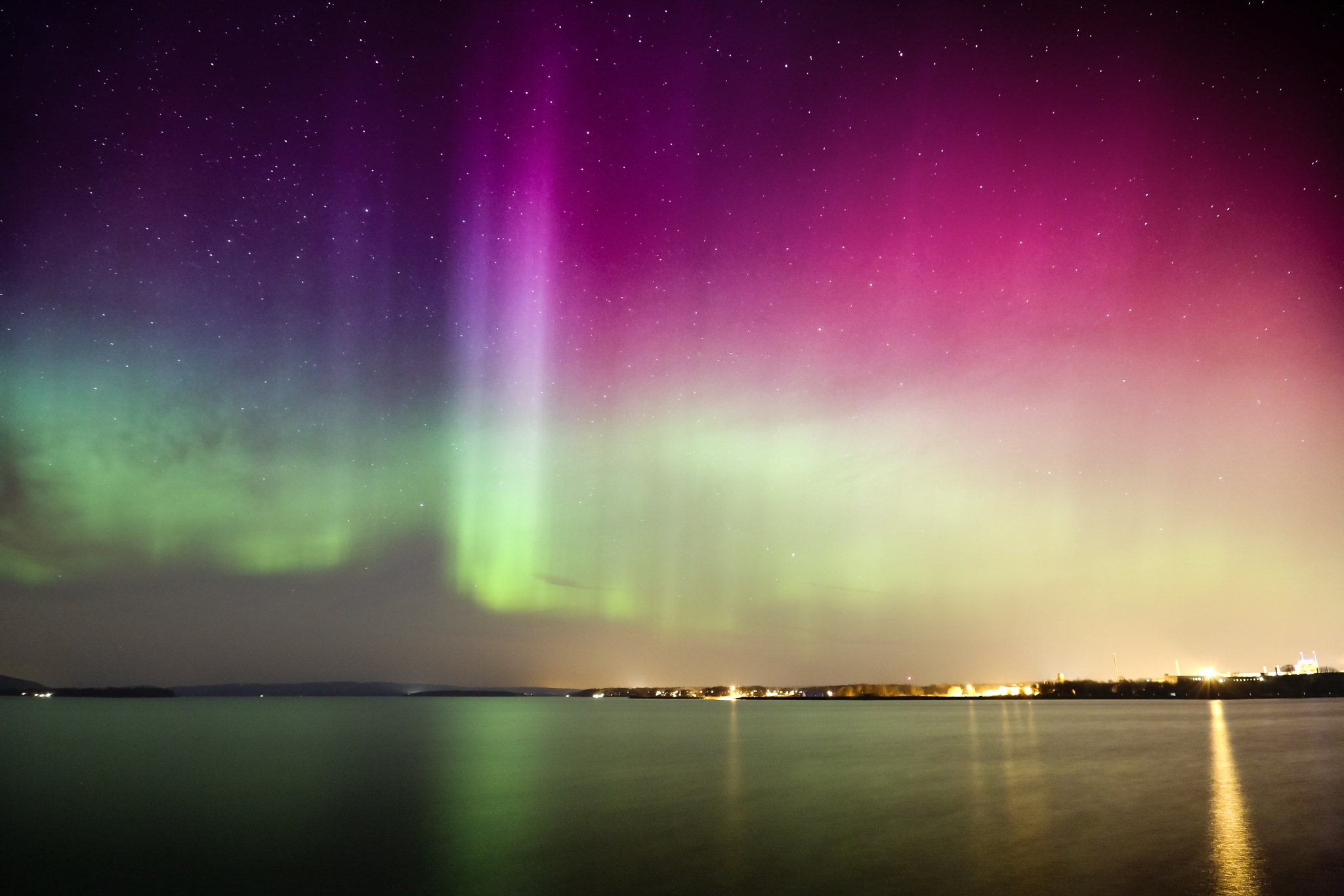 Northern lights in the south by rejophoto