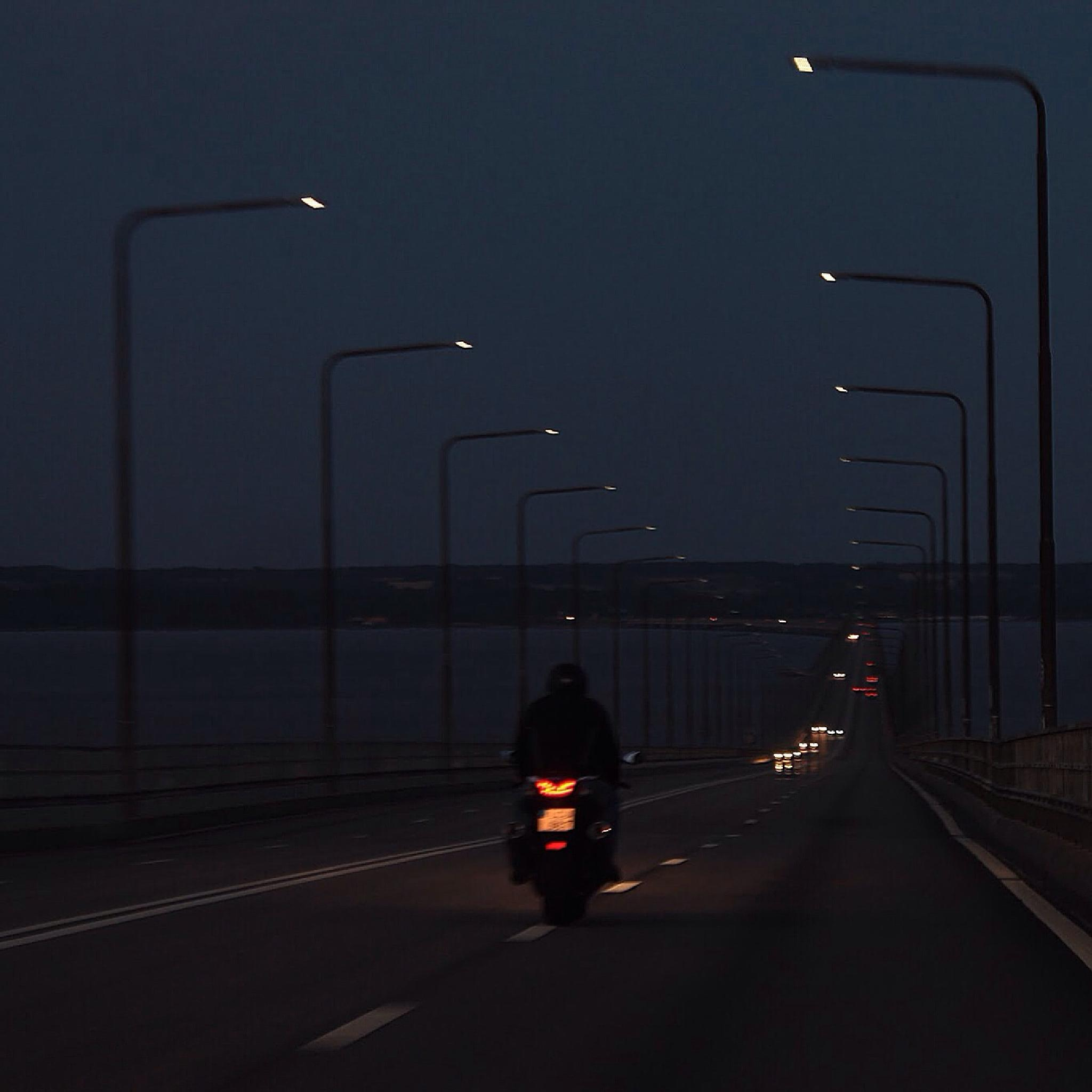 Ölandsbron by night by Beccap1985
