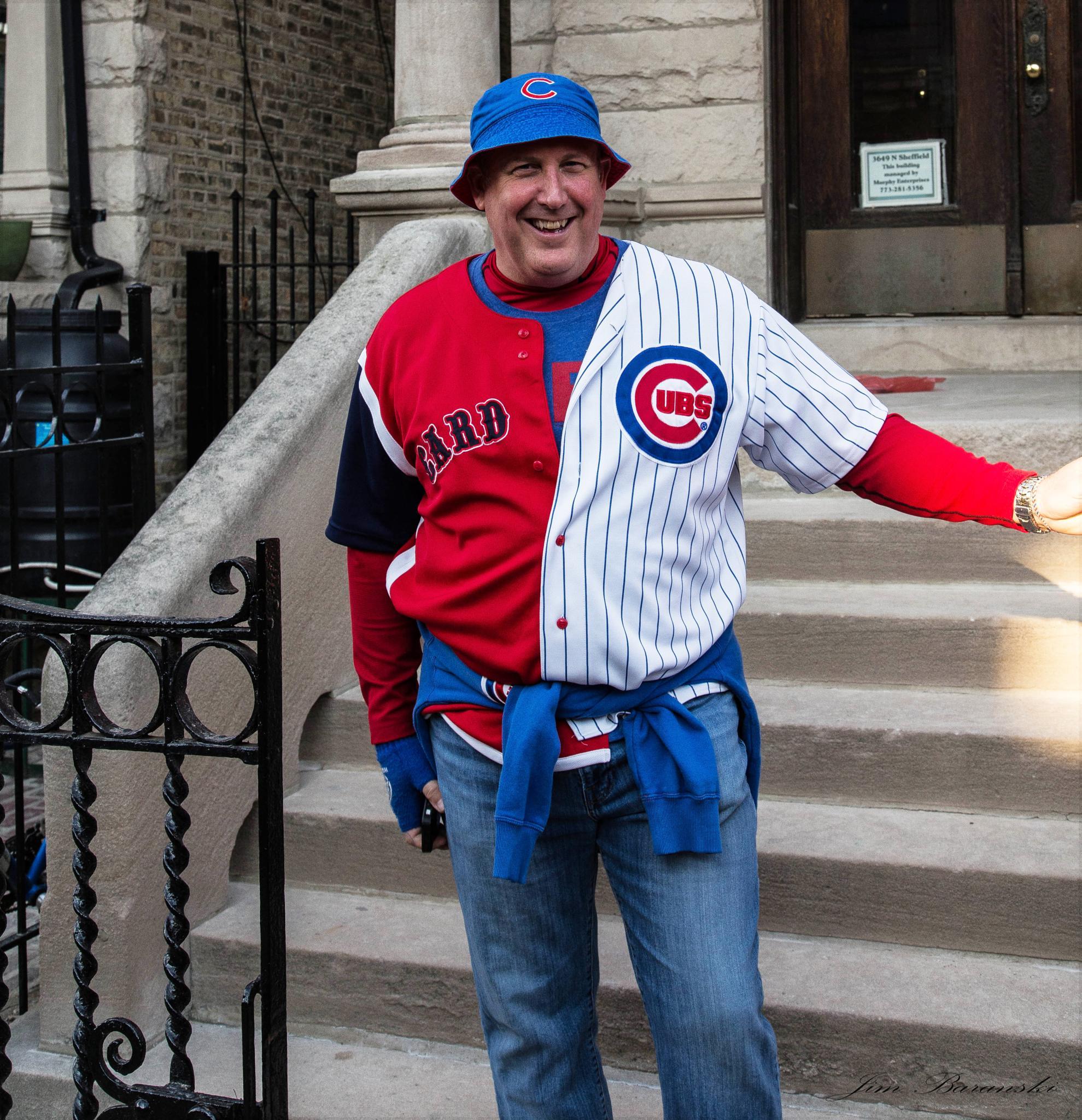 Cubs fan through September, Cardinals fan during playoffs by james.baranski.96