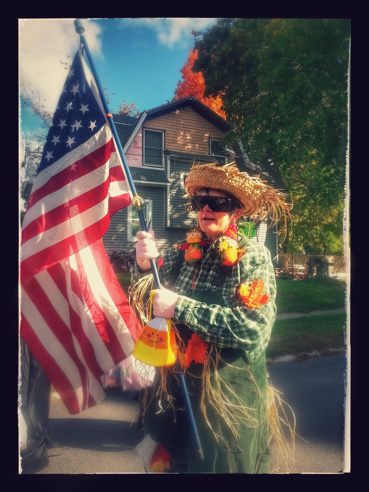 Patriotic Scarecrow by Spiritlight