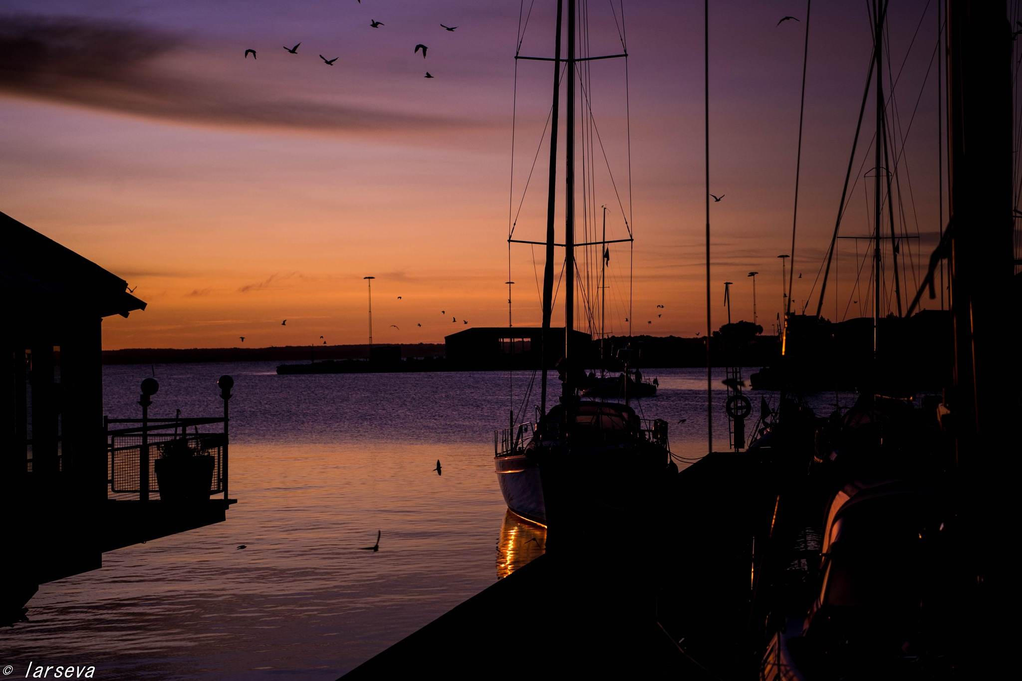 kalmar harbor by lars-goran6