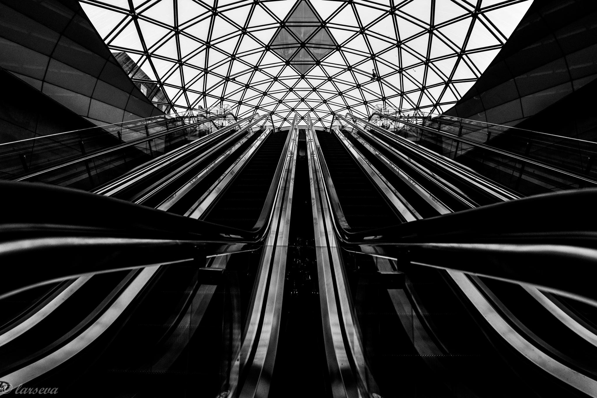 escalators by lars-goran6