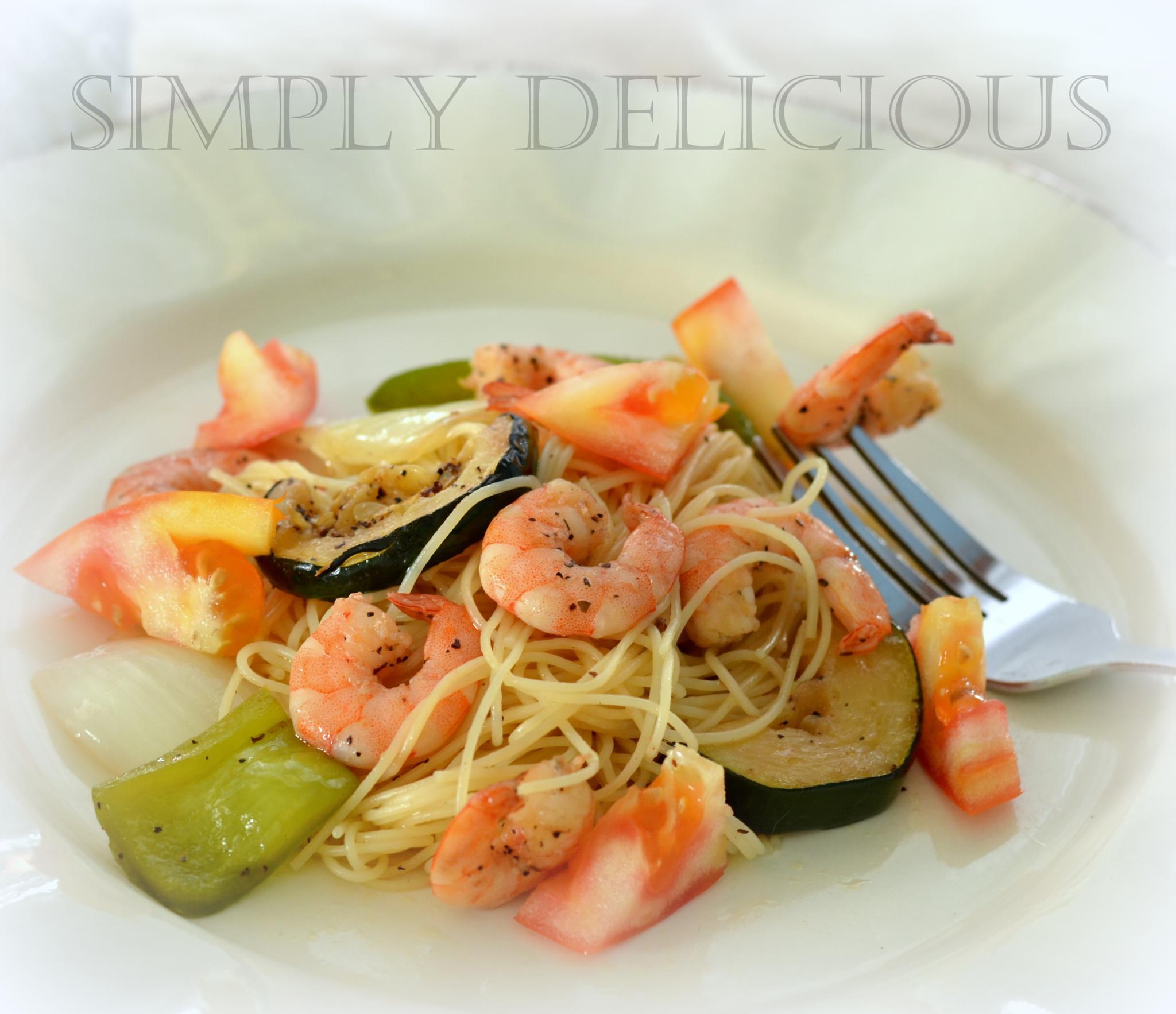 Shrimp Lunch by khauser