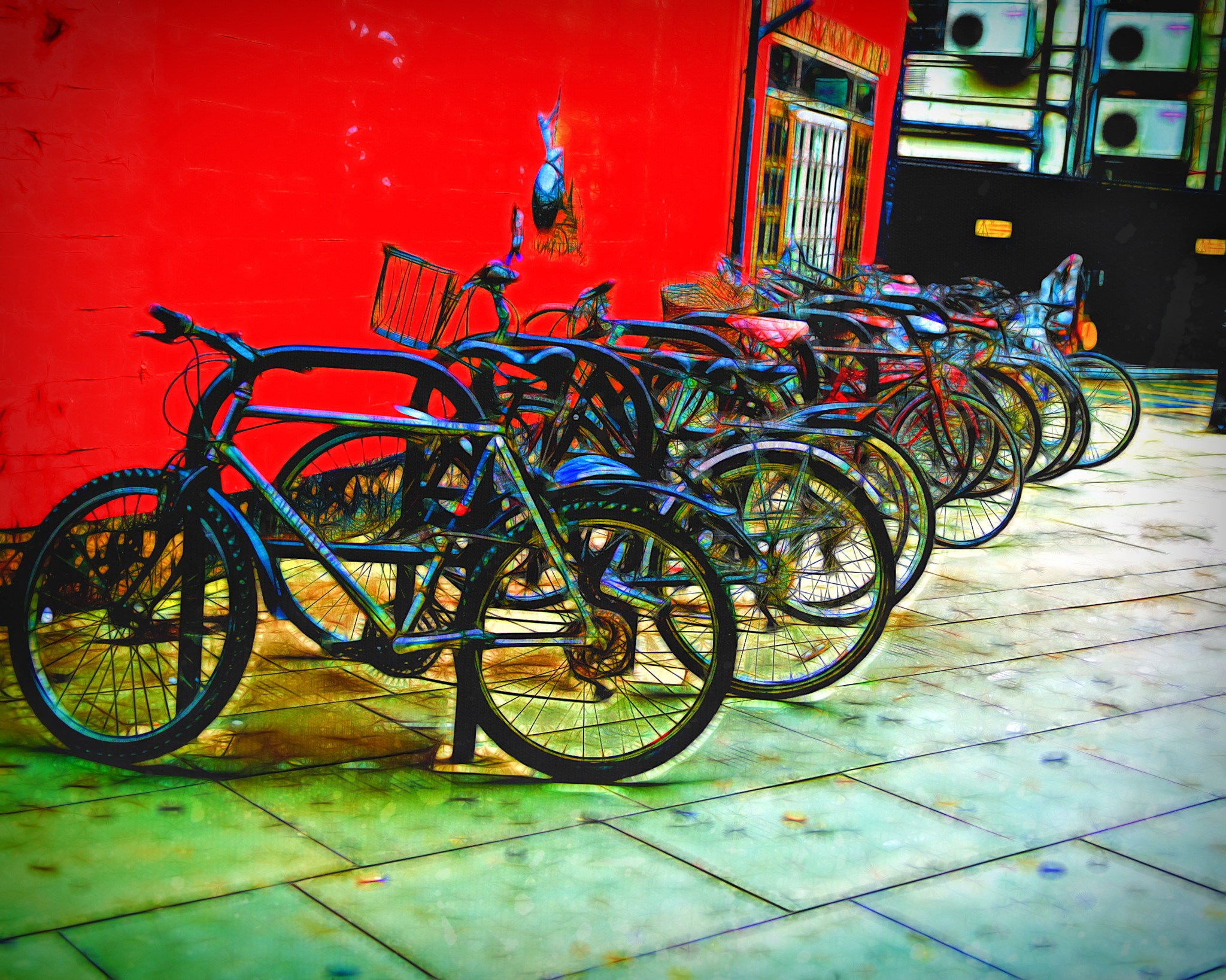 Bike Park by Francisco Colon