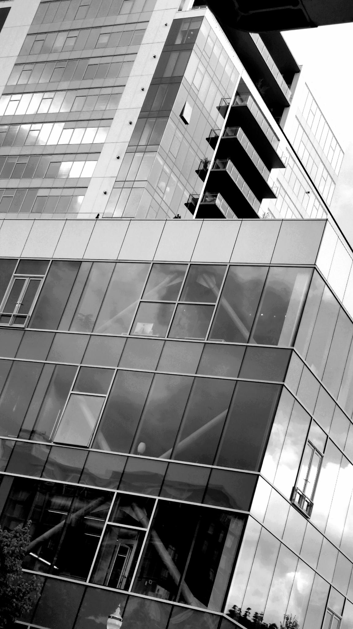 Towers of Glass & Steel by J. Wetmore Photography
