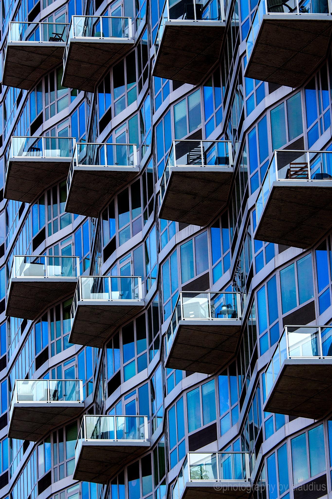 Balconies... by Claudius Cazan