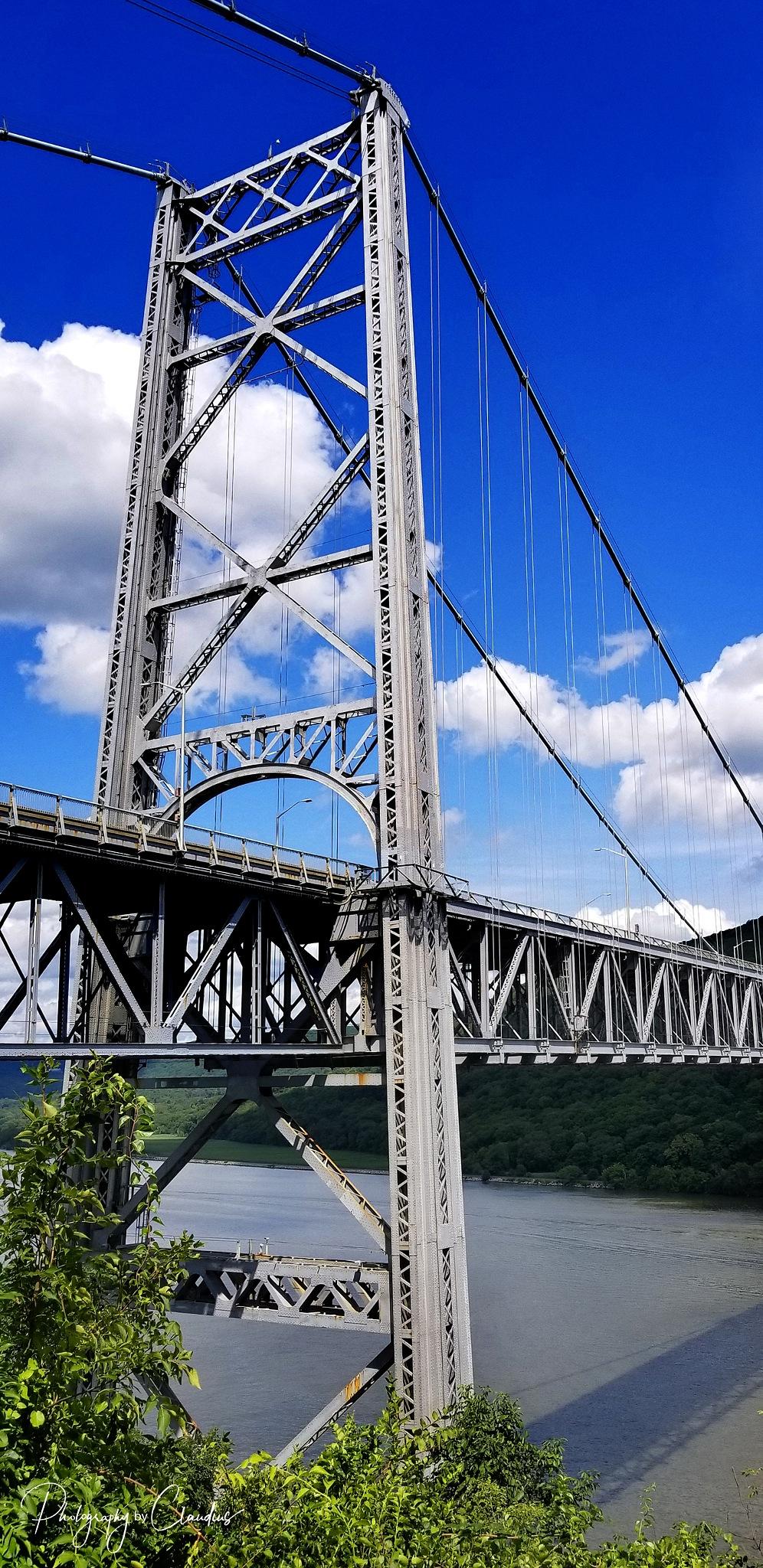 The Bear Mountain Bridge by Claudius Cazan